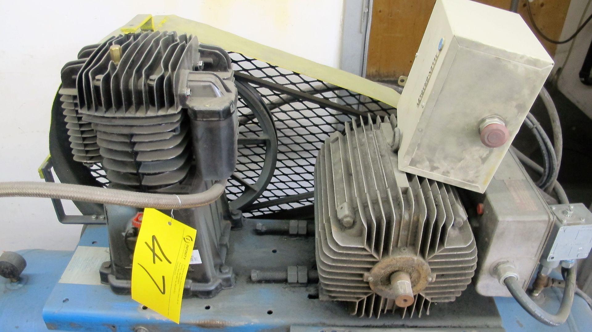 Lot 47 - 5HP AIR COMPRESSOR
