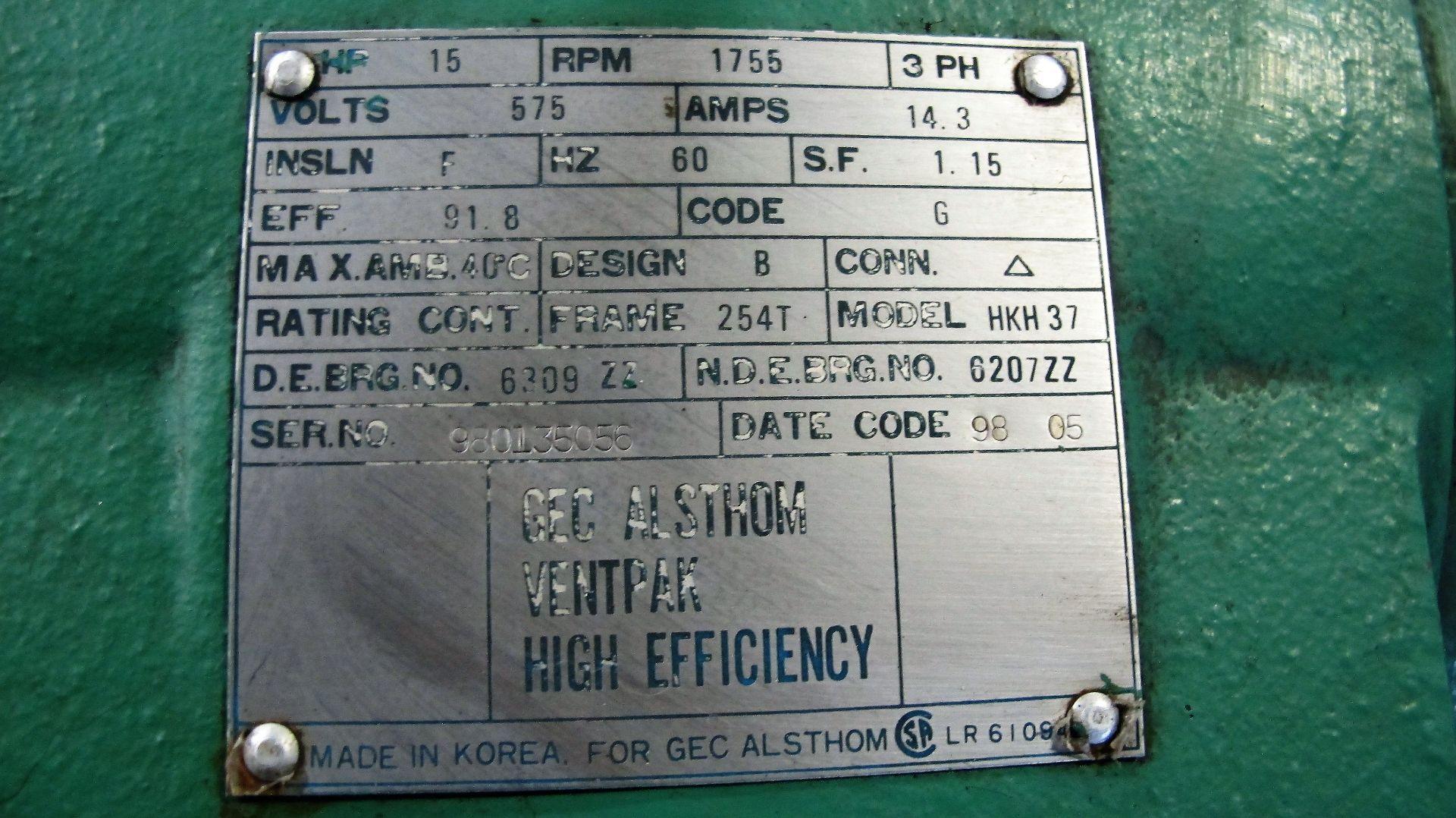 Lot 48 - CHAMPION 15HP AIR COMPRESSOR
