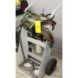 DUAL TANK CART W/TORCH, CABLES AND REGULATOR