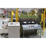 Lot 149 - APPLIED AUTOMATION CANADA 4 POST 40 TON HYDRAULIC DIE TRANSFER SYSTEM INCLUDES LIGHT CURTAIN,