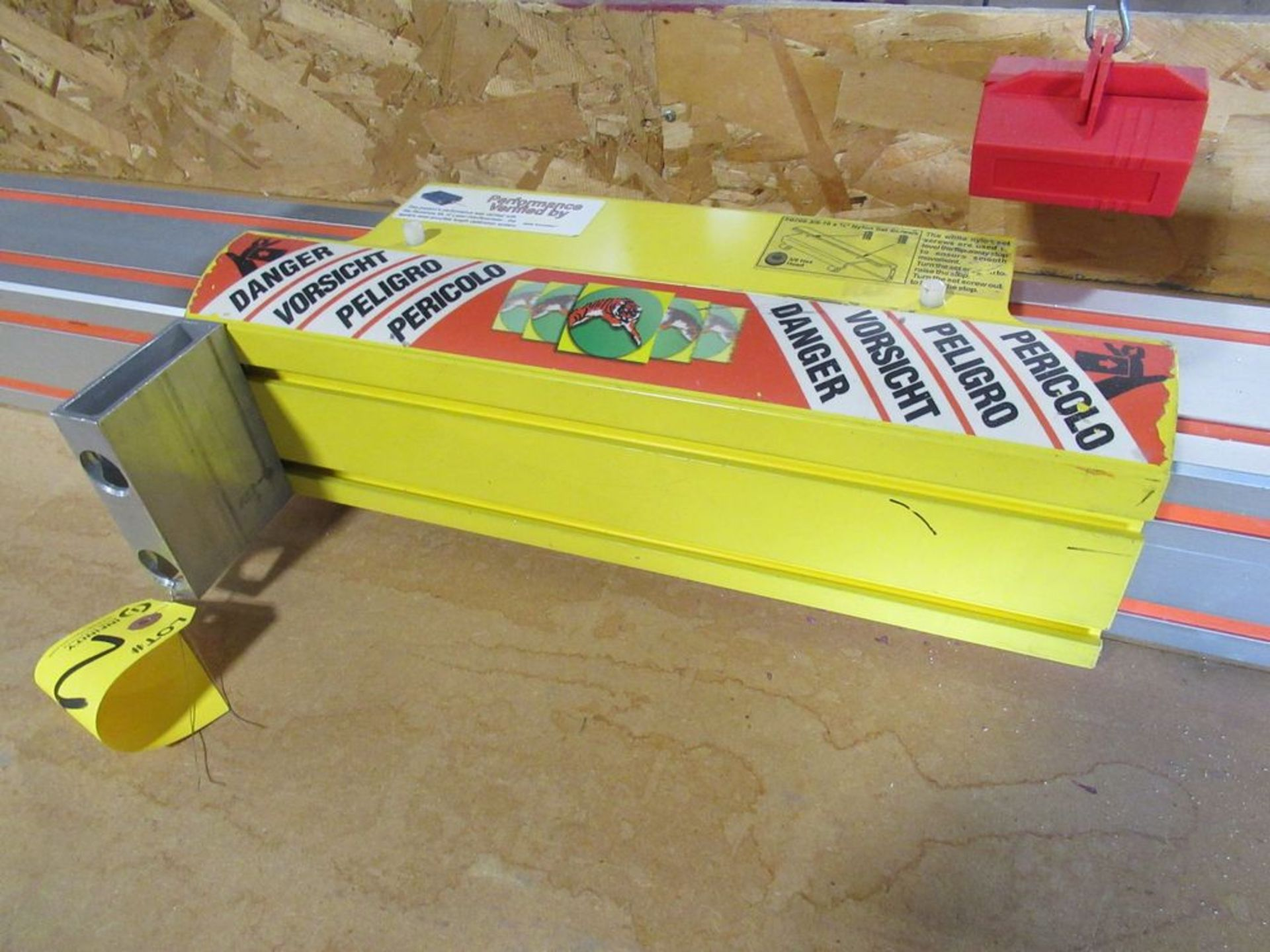 """TIGER STOP 10' MATERIAL MEASURING SYSTEM W/ 22"""" X 8' TABLE - Image 3 of 5"""