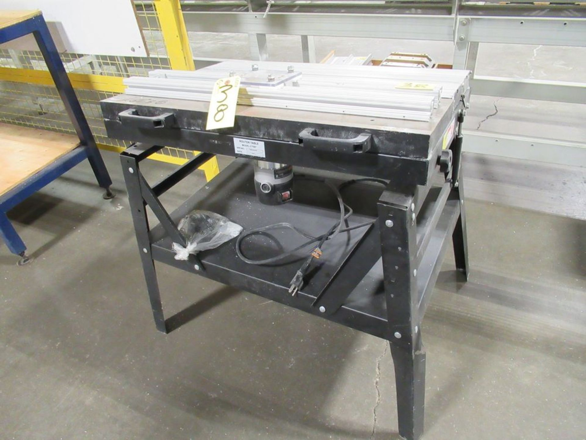 PORTER CABLE 1001 ROUTER W/ 2012 CT097 ROUTER TABLE, S/N 11SB-006-03-24 - Image 2 of 4