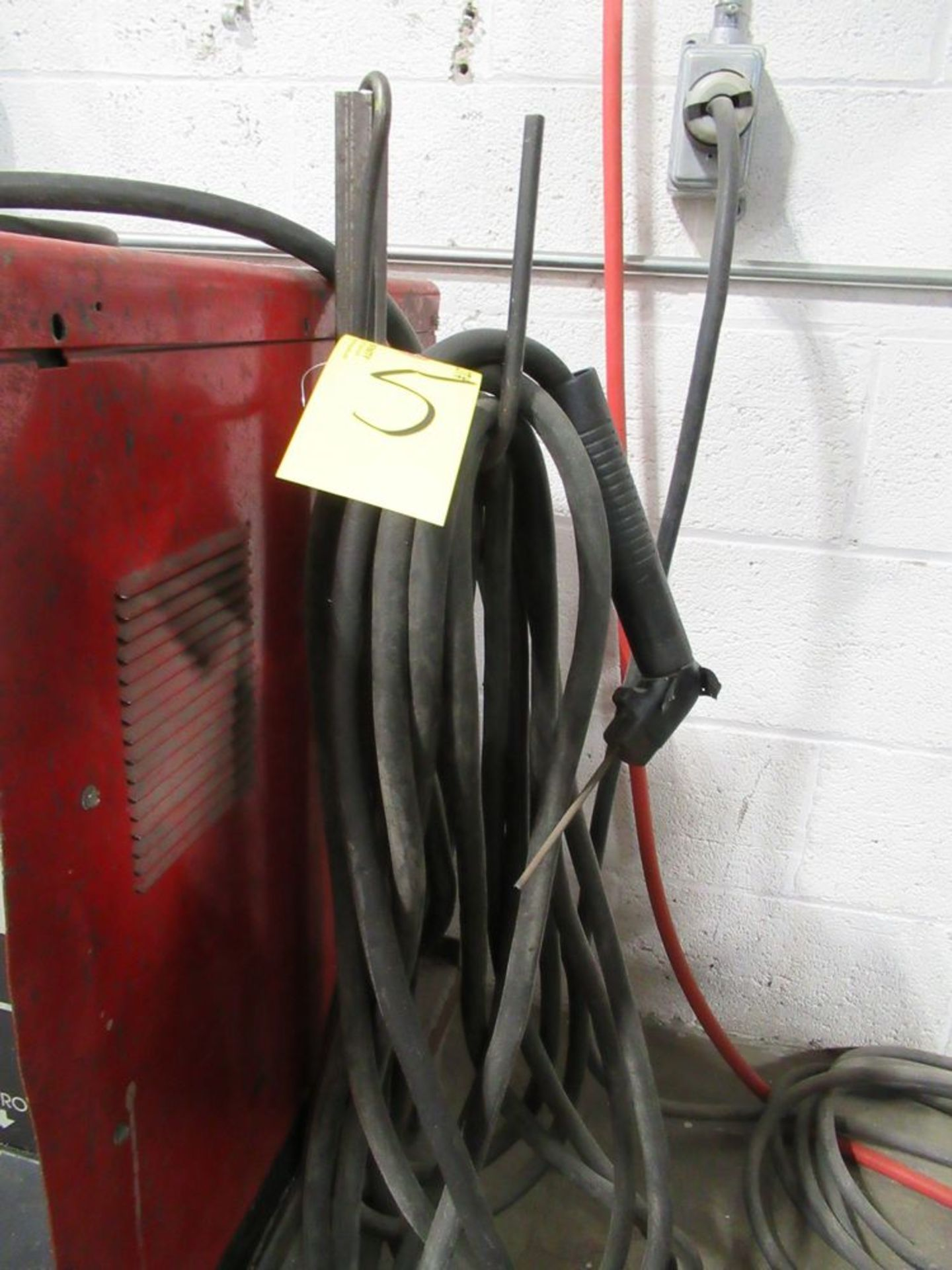 LINCOLN ELECTRIC IDEALARC 250 STICK WELDER, S/N C1000200386 - Image 4 of 5