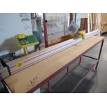 """TIGER STOP 10' MATERIAL MEASURING SYSTEM W/ 22"""" X 8' TABLE"""