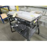 PORTER CABLE 1001 ROUTER W/ 2012 CT097 ROUTER TABLE, S/N 11SB-006-03-24