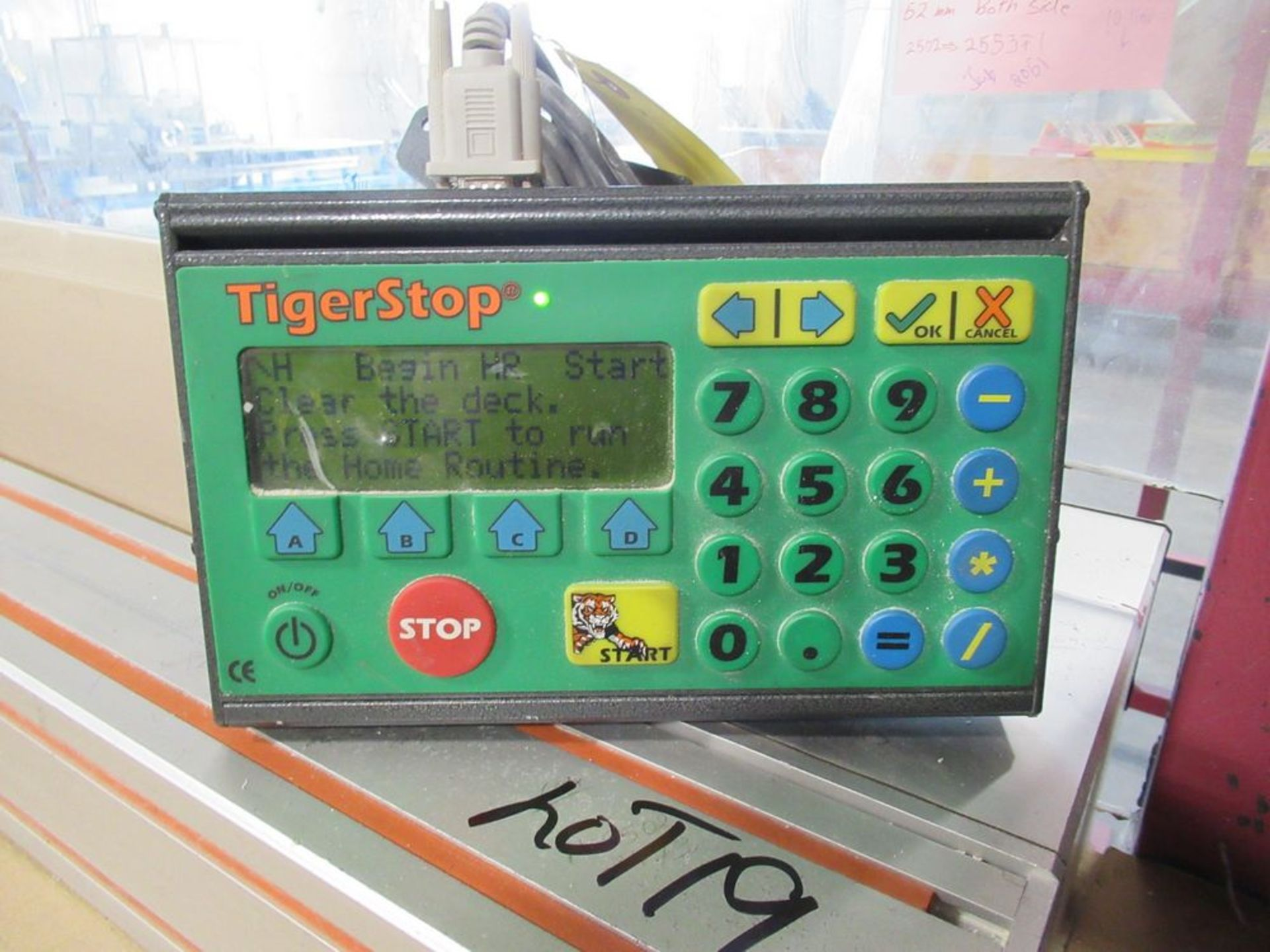 """TIGER STOP 12' MATERIAL MEASURING SYSTEM W/ 22"""" X 12' TABLE - Image 4 of 4"""