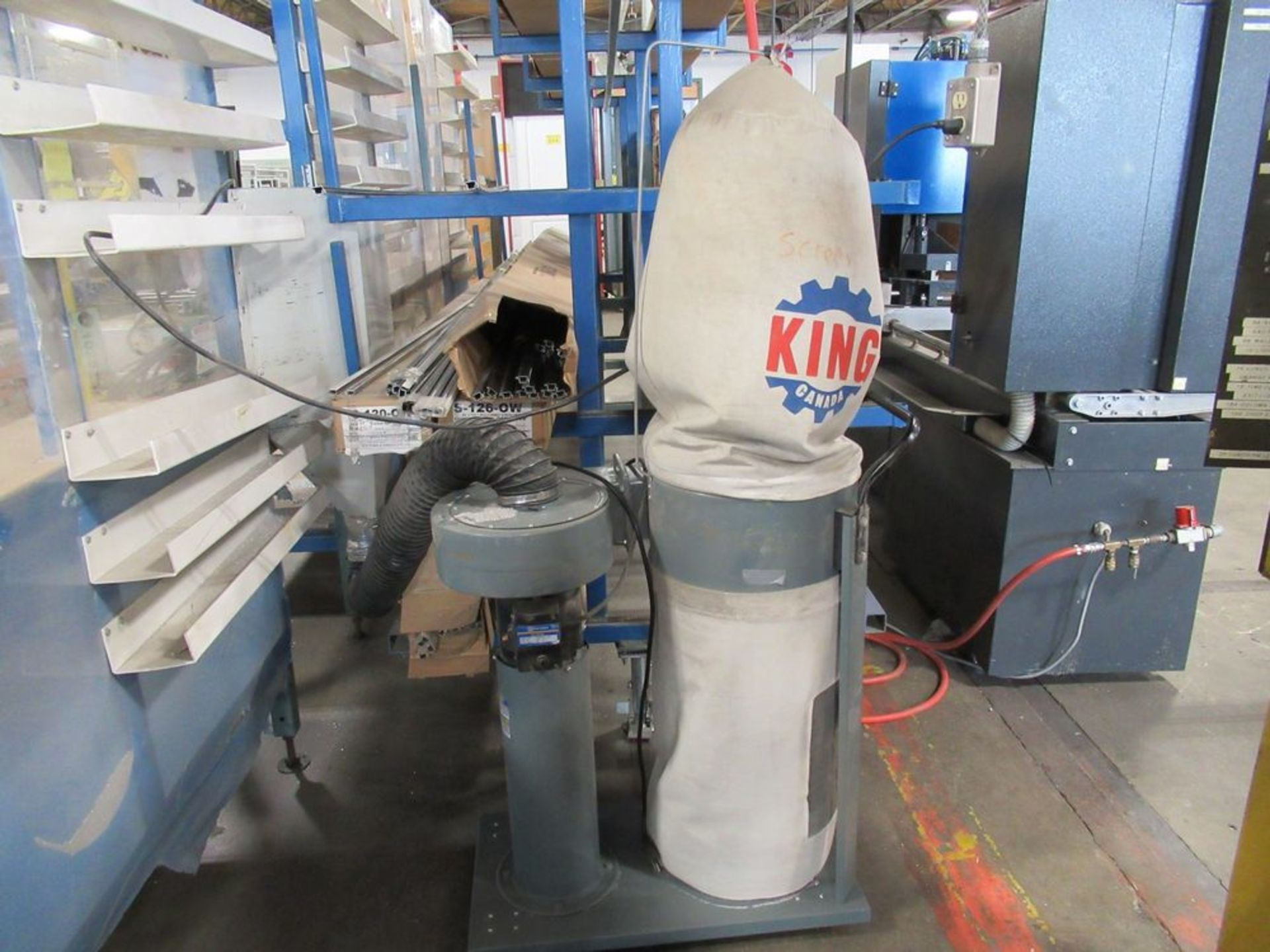 2016 KING CANADA KC-2105C 1HP PORTABLE DUST COLLECTOR, S/N 000374