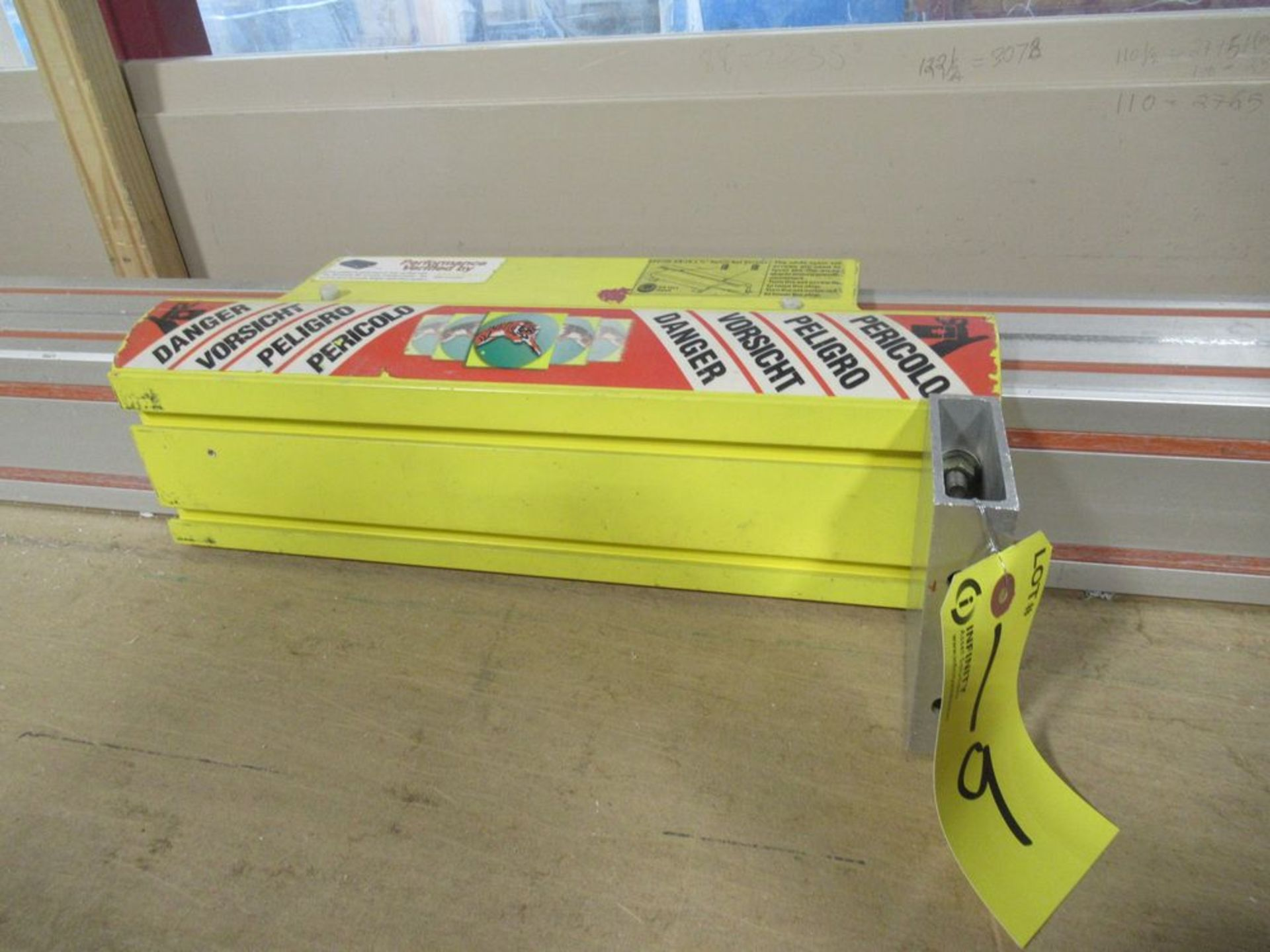 """TIGER STOP 12' MATERIAL MEASURING SYSTEM W/ 22"""" X 12' TABLE - Image 3 of 4"""