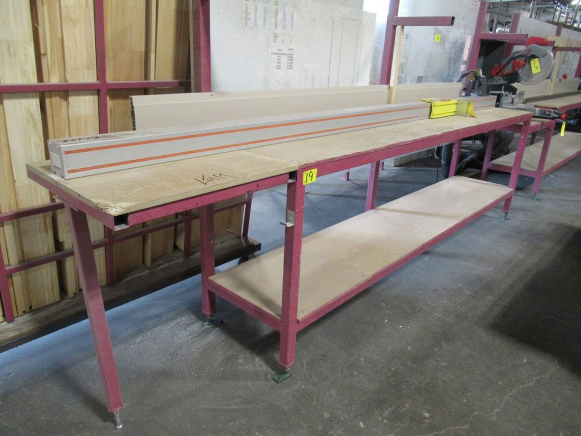 """TIGER STOP 12' MATERIAL MEASURING SYSTEM W/ 22"""" X 12' TABLE - Image 2 of 4"""