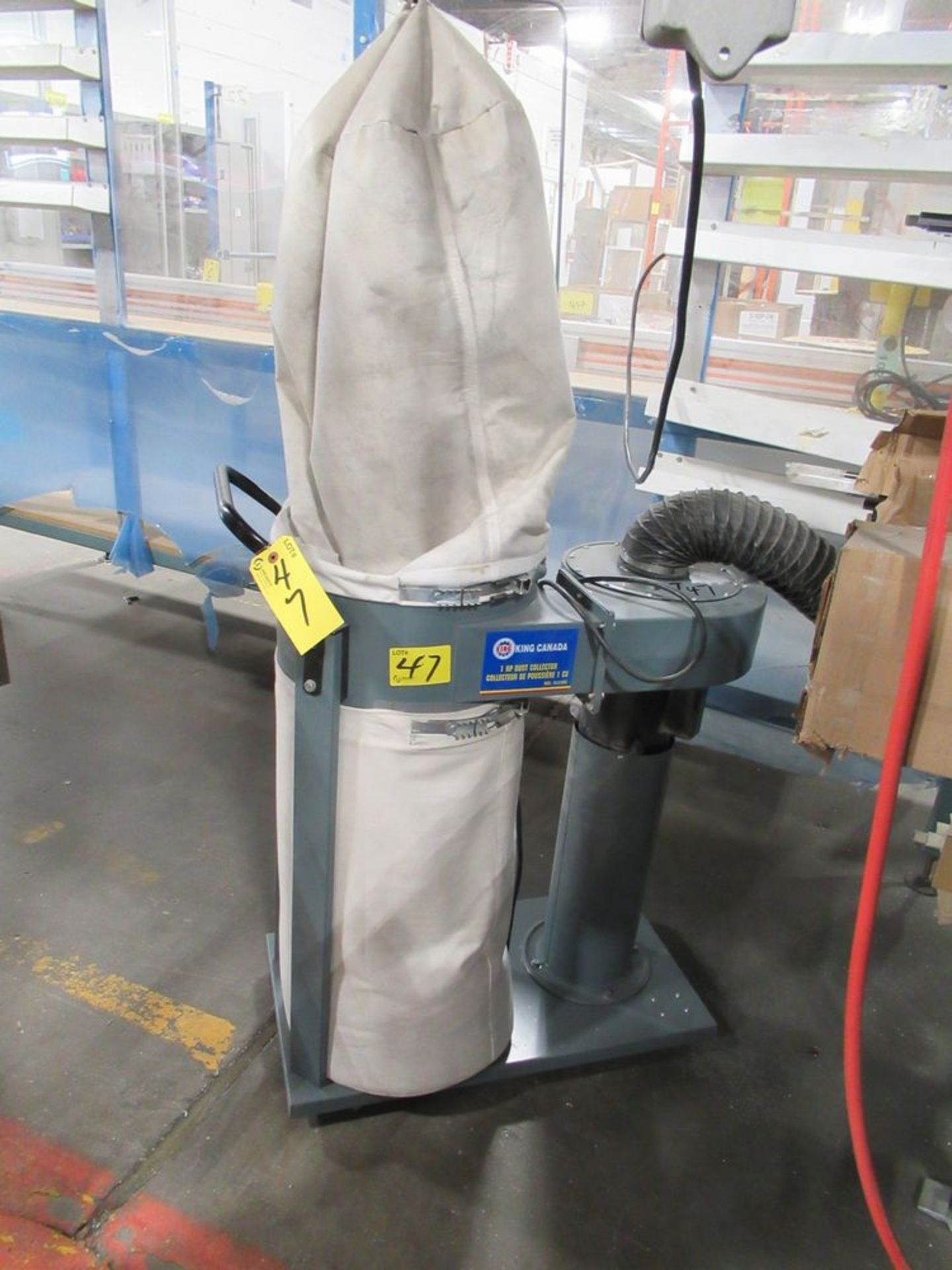 2016 KING CANADA KC-2105C 1HP PORTABLE DUST COLLECTOR, S/N 000374 - Image 2 of 3