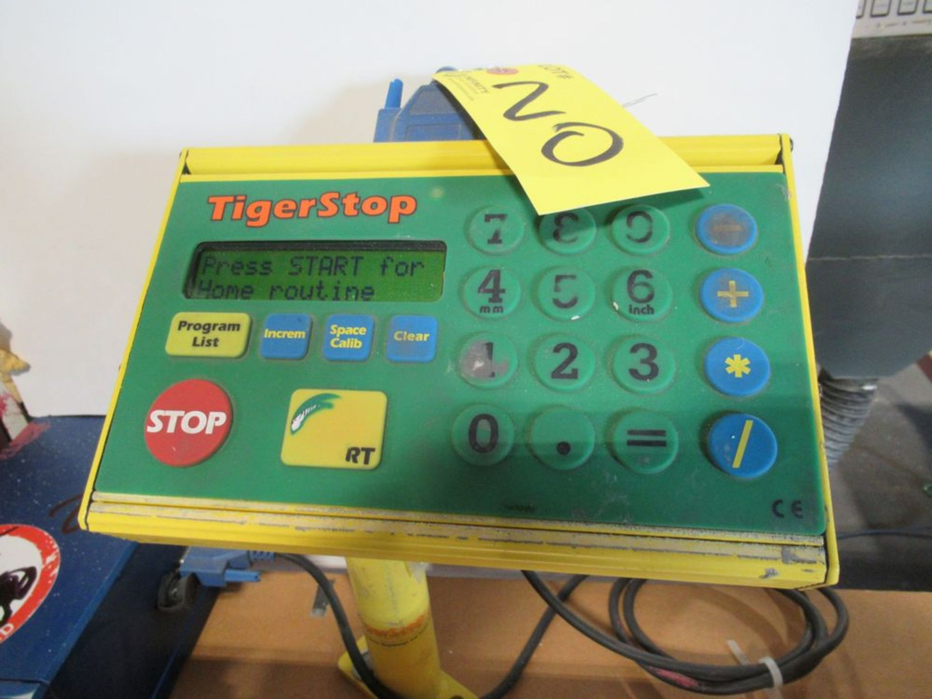 """TIGER STOP 10' MATERIAL MEASURING SYSTEM W/ 22"""" X 8' TABLE - Image 4 of 5"""