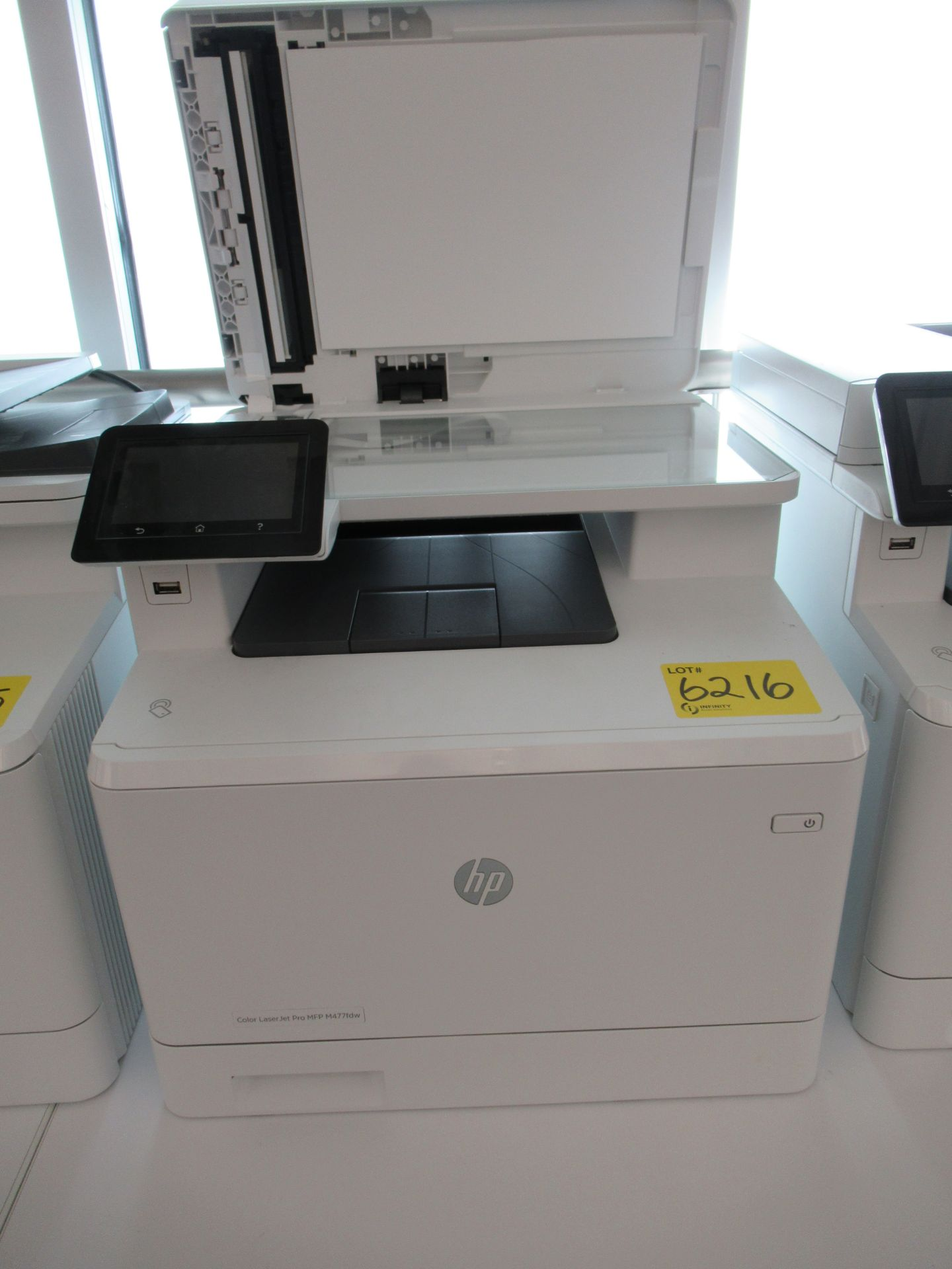 Lot 6216 - HP COLOUR LASERJET ENTERPRISE, MFP M477FDW PRINTER/COPIER (REUTER)
