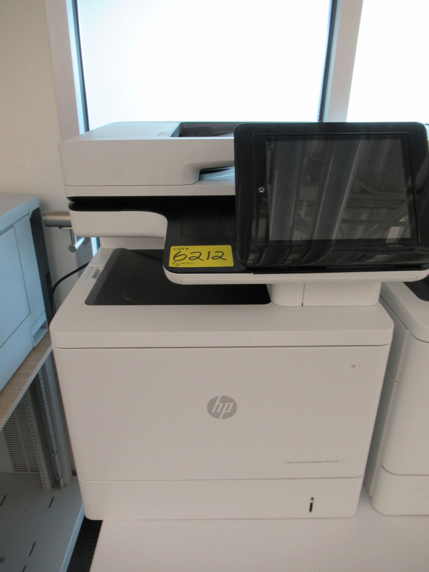 Lot 6212 - HP COLOUR LASERJET ENTERPRISE, MFP M577 PRINTER/COPIER (REUTER)