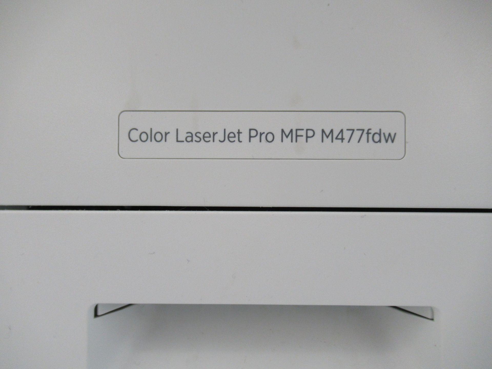 Lot 6218 - HP COLOUR LASERJET ENTERPRISE, MFP M477FDW PRINTER/COPIER (REUTER)