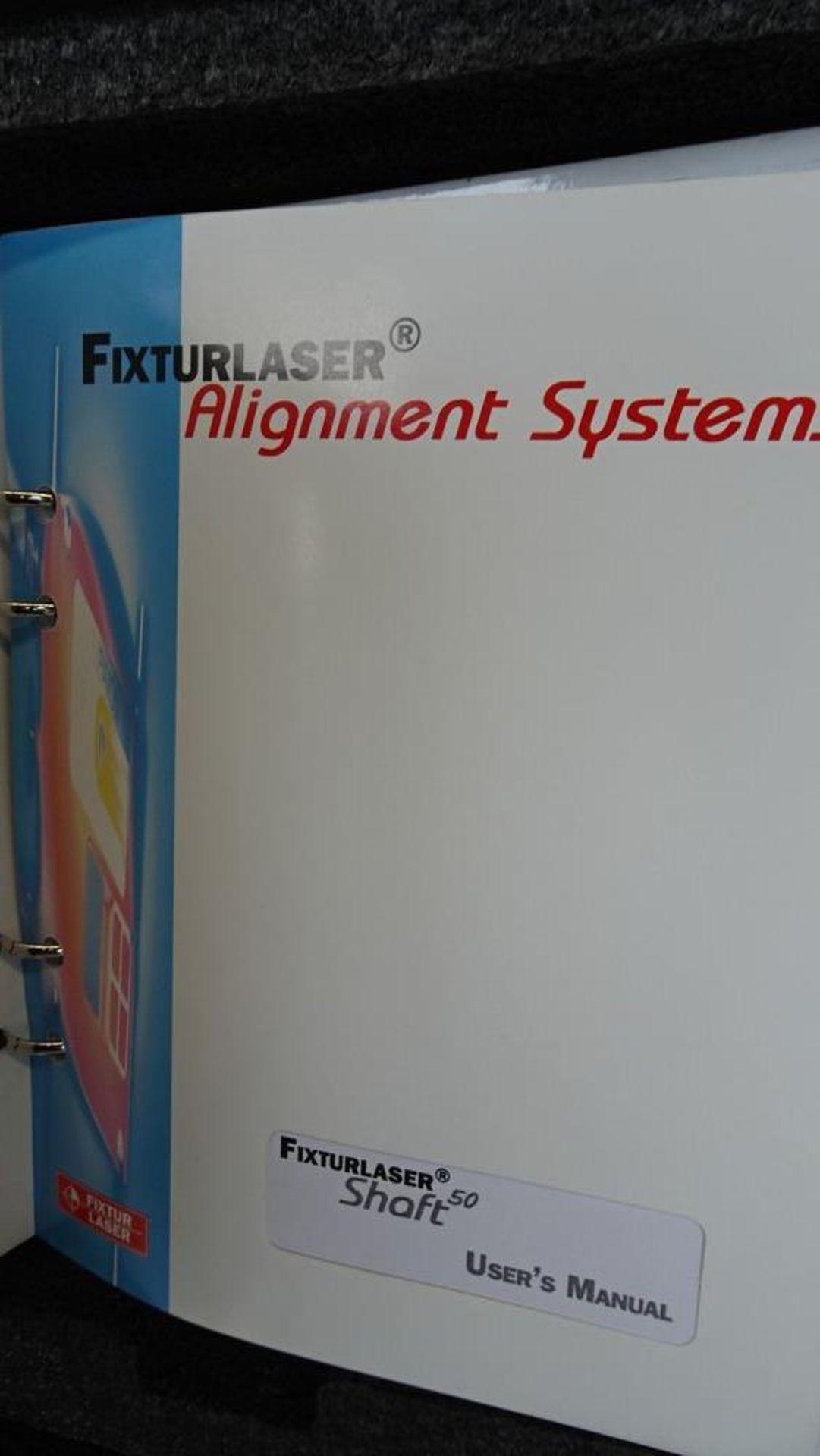 Lot 34 - FIXTURLASER ALIGNMENT SYSTEM SHAFT 50 TYPE, C/W CASE