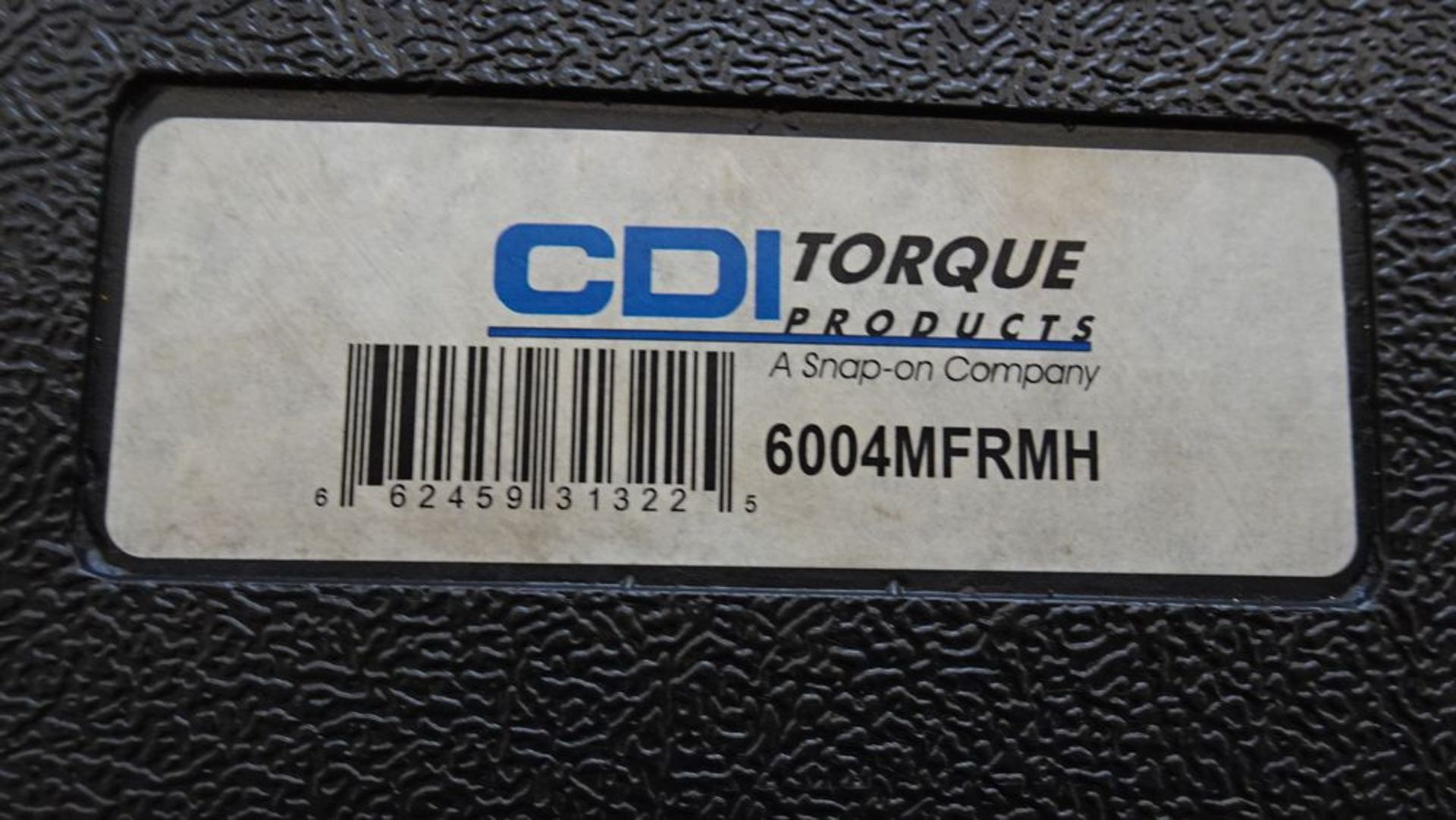 """Lot 25 - CDI 6004MFRWH MICROMETER 3/4"""" ADJUSTABLE TORQUE WRENCH, 48"""" LONG C/W CASE, S/N 0115601049"""