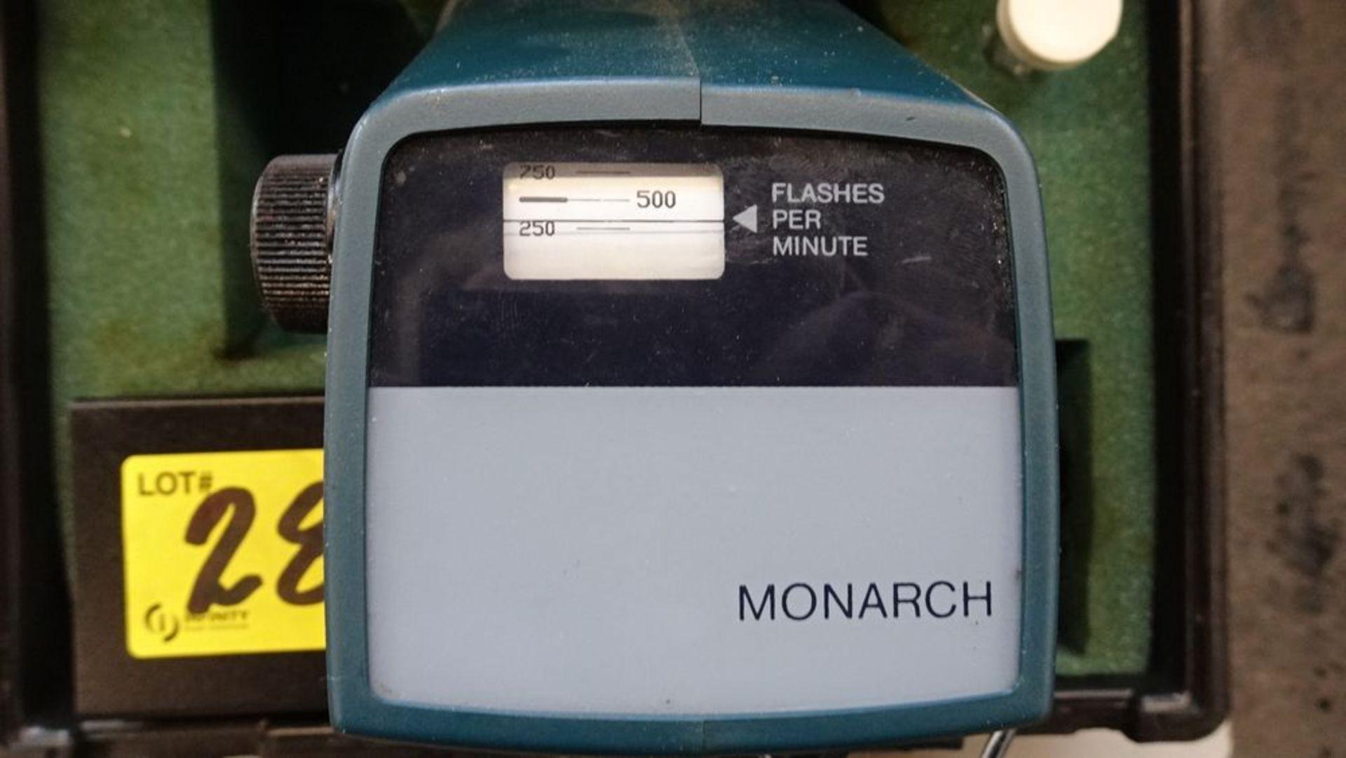 Lot 28 - MONARCH TIMING LIGHT C/W CASE