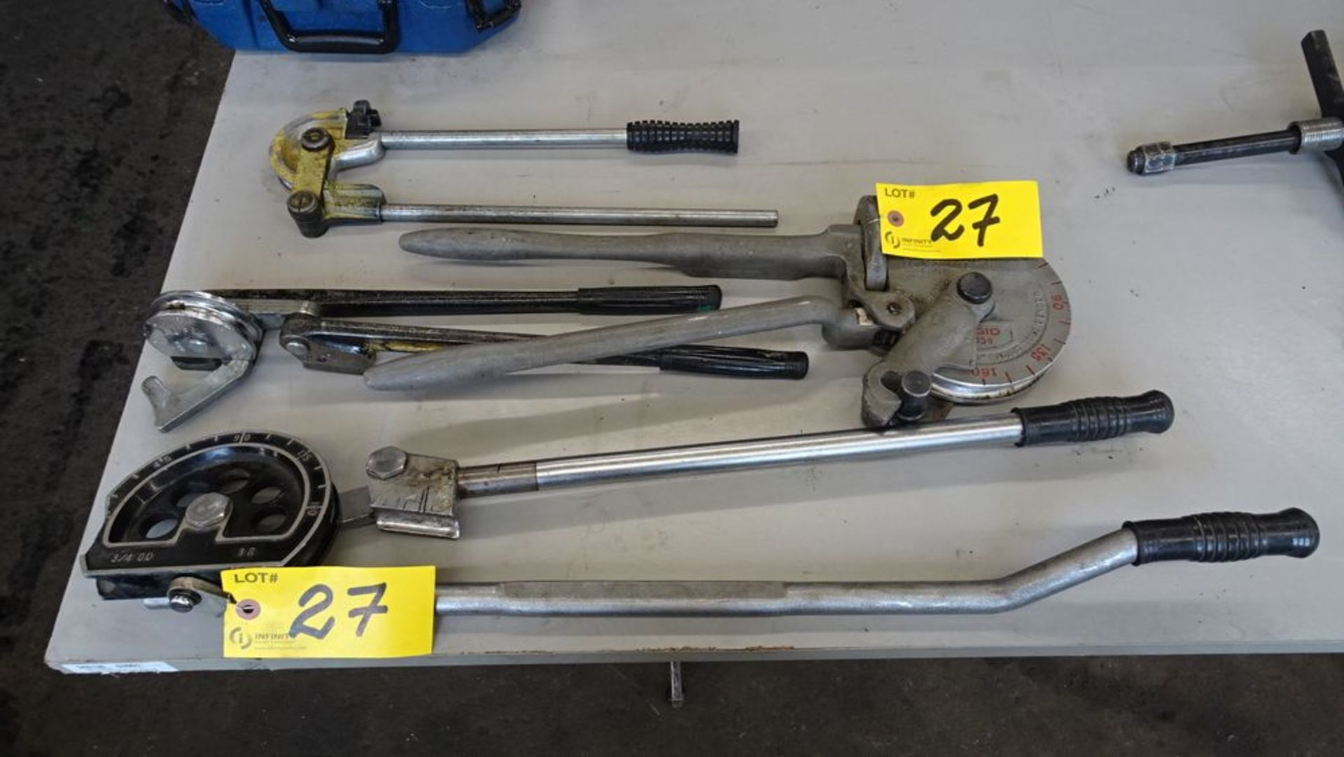 Lot 27 - (4) CONDUIT BENDERS