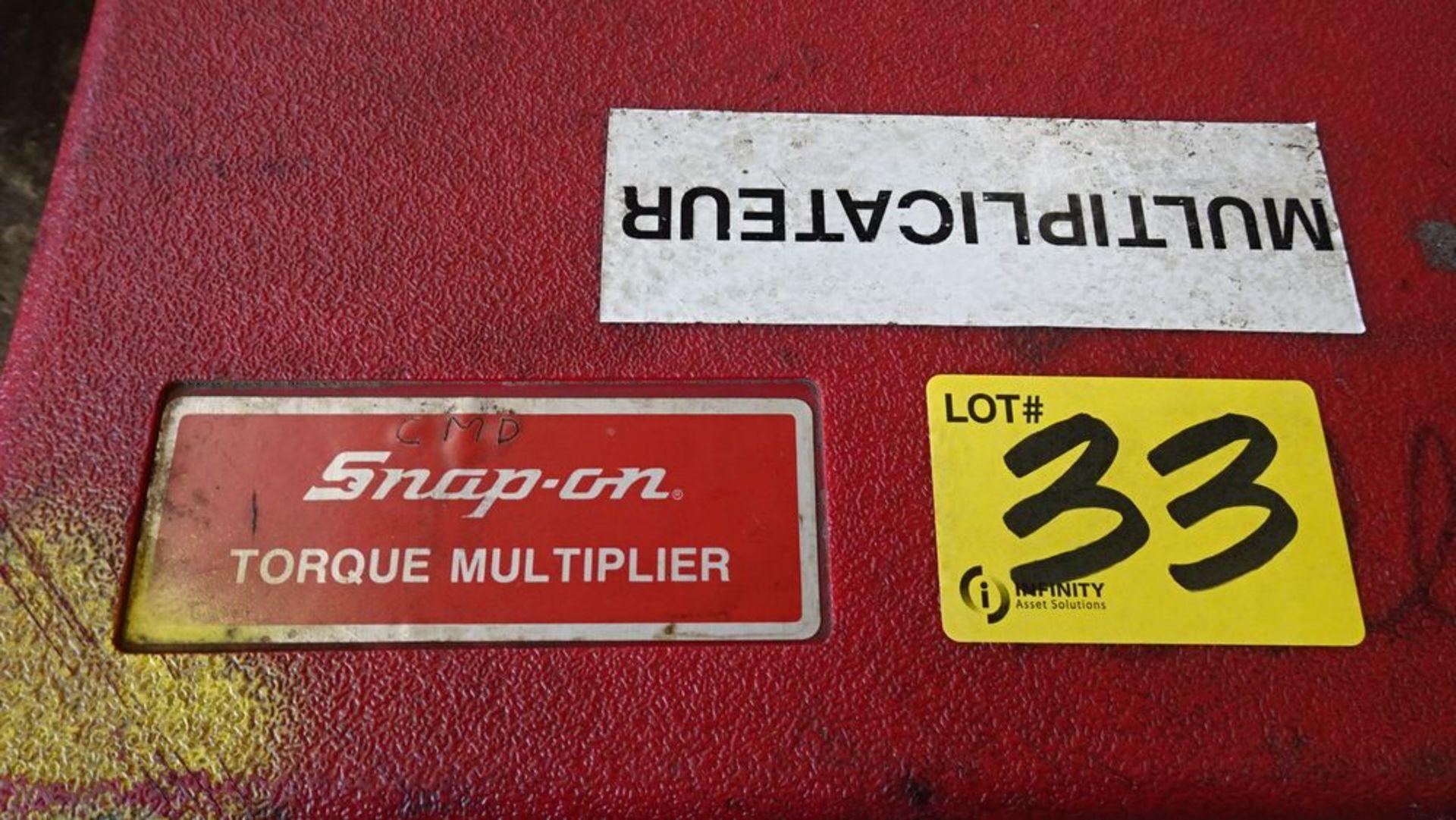 Lot 33 - SNAP-ON TORQUE MULTIPLIER C/W CASE
