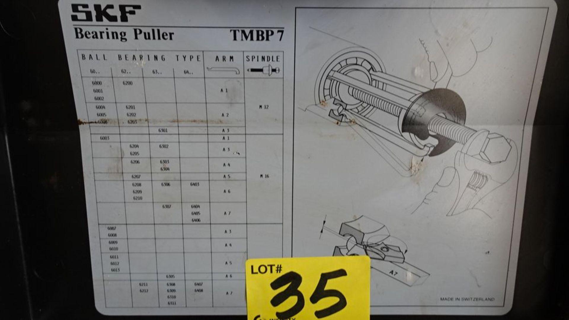 Lot 35 - SKF TMBP7 BEARING PULLER C/W CASE
