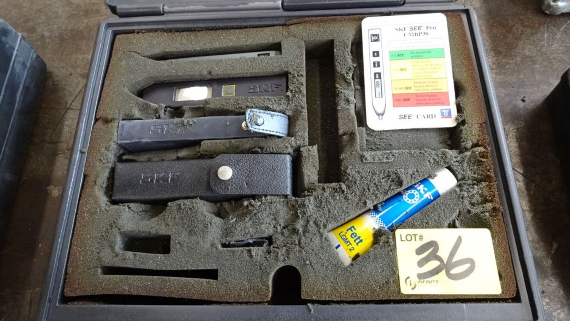 Lot 36 - SKF CMPK30 PLUS BASIC CONDITION MONITORING PACKAGE C/W CASE