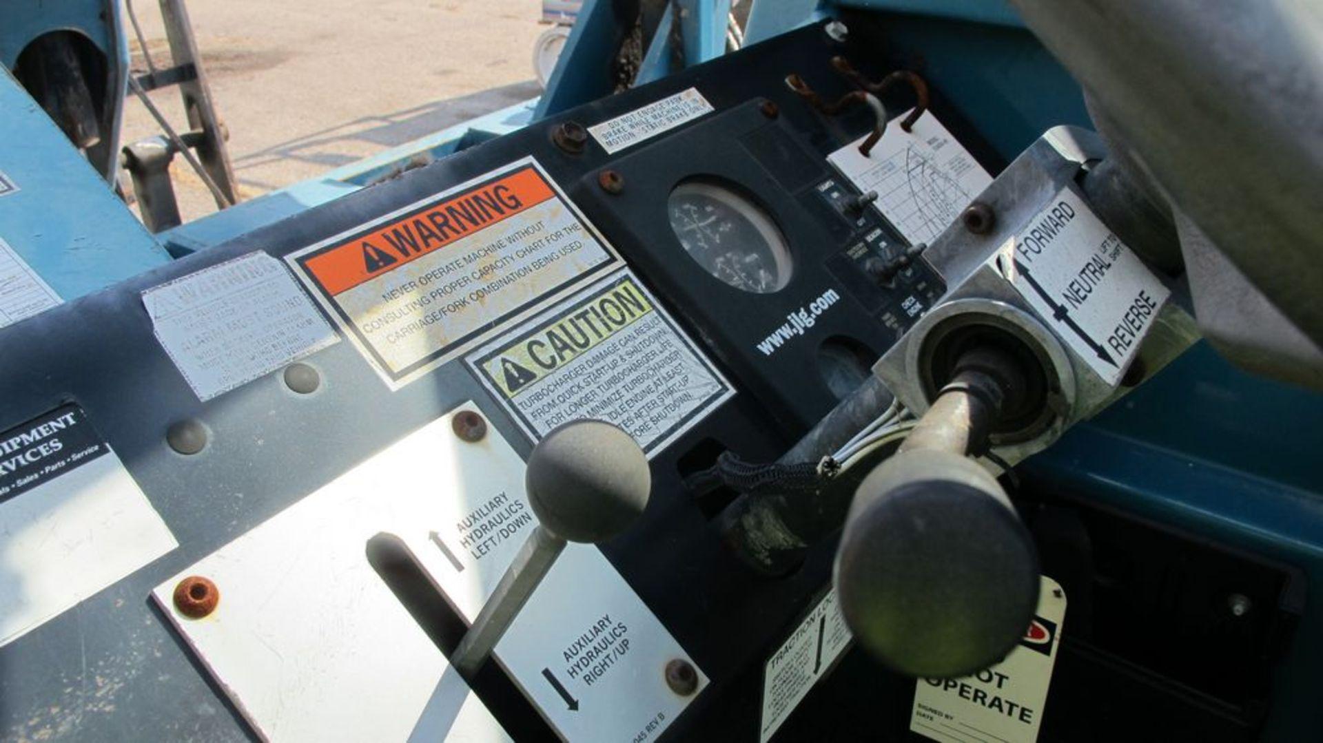 Lot 6 - JLG TELESCOPING BOOM MATERIAL HANDLER 53406/9/10/540 (NEEDS REPAIR) (WAREHOUSE 30 - PARKING LOT)