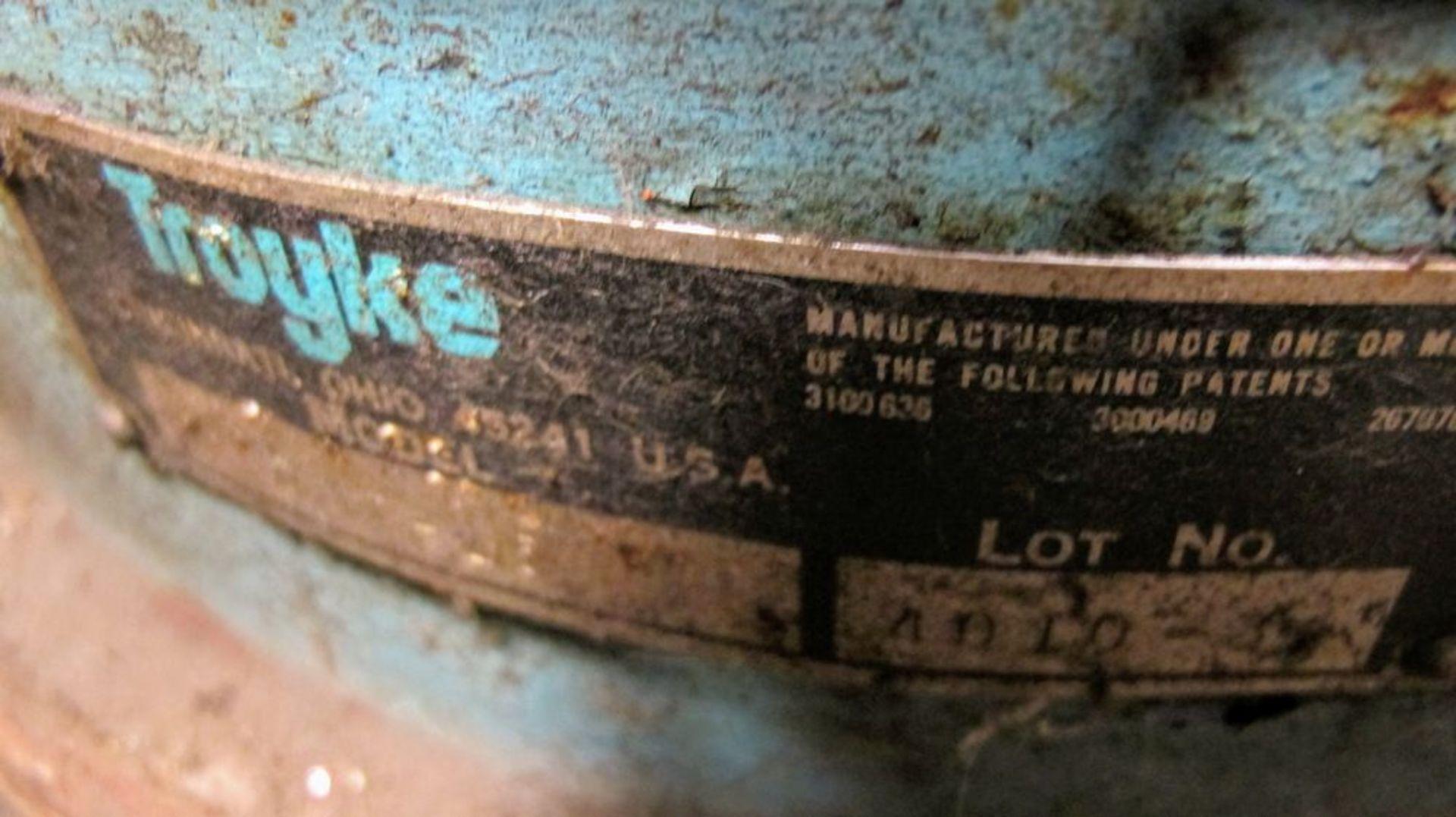 "Lot 101 - TROYKE 12"" X 12"" ROTARY TABLE"