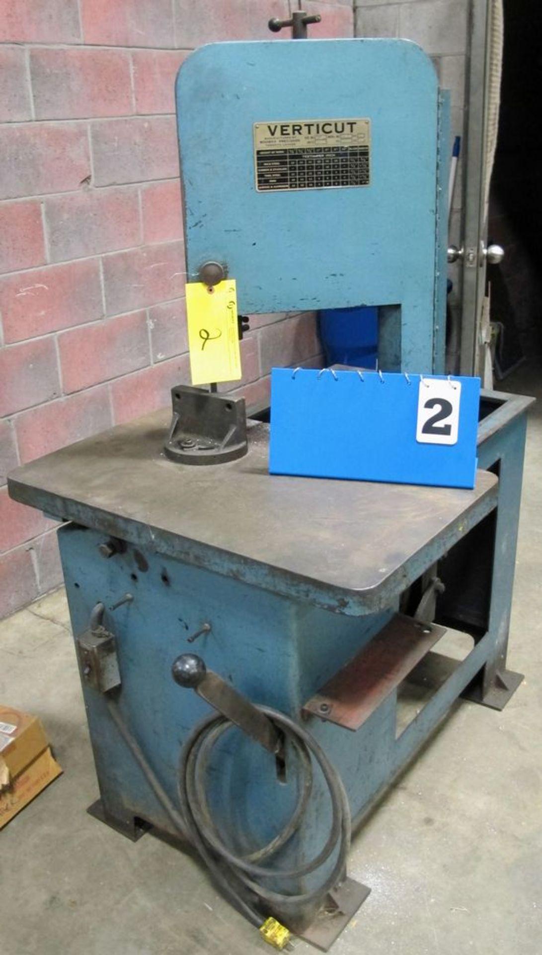 Lot 2 - ROUBAX VERTICUT 115-A Roll-in Saw, s/n 486