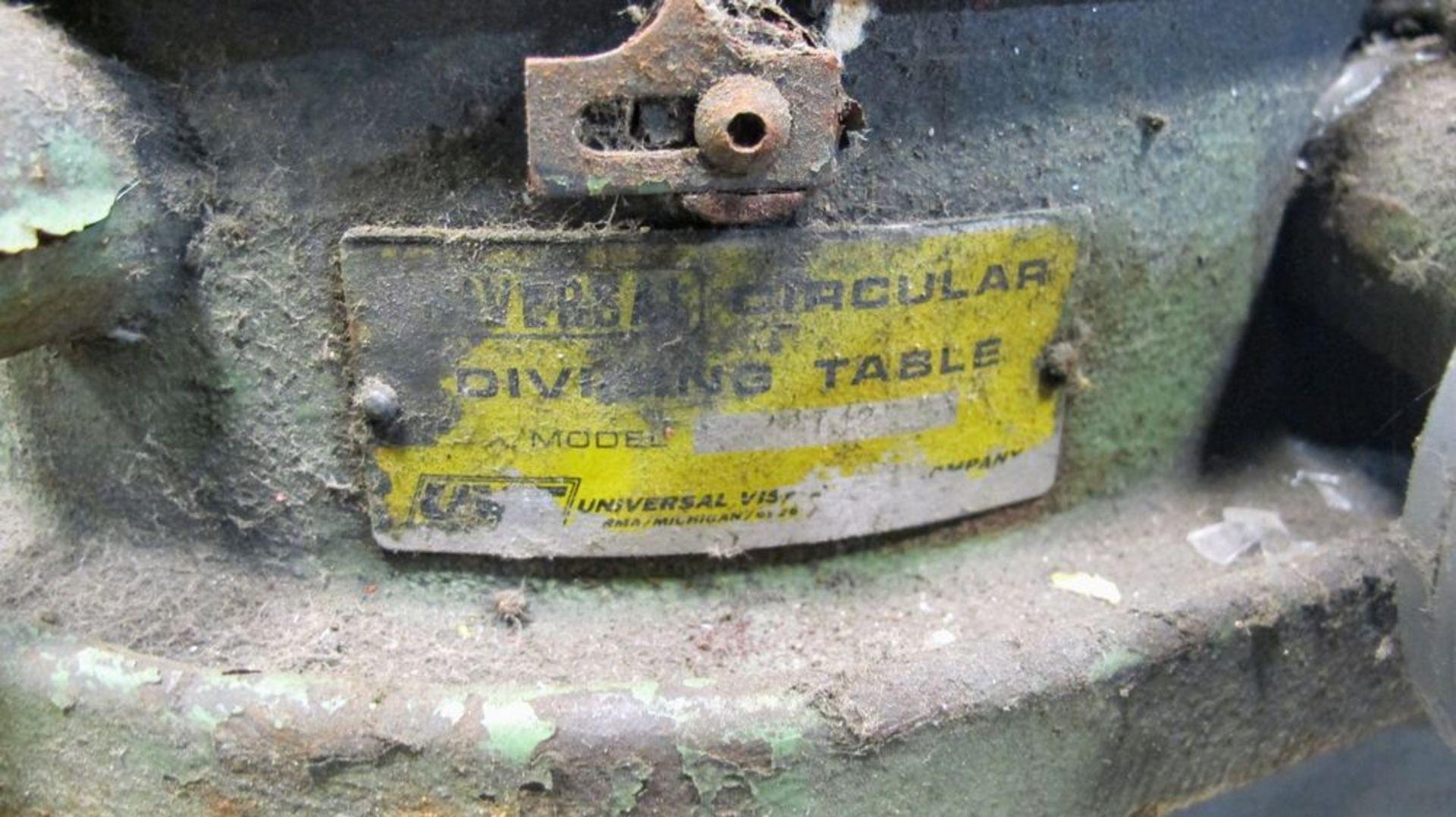 "Lot 100 - VERSA 12"" ROTARY TABLE W/ 12"" ROTARY TABLE"