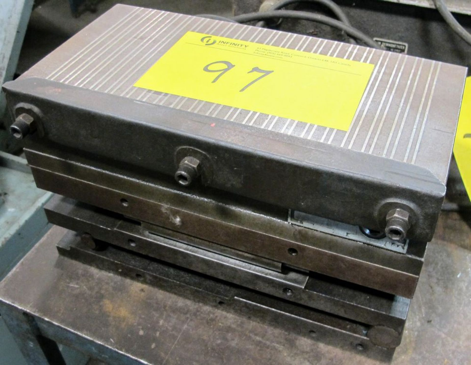 "Lot 97 - 6"" X 12"" MAGNETIC SINE PLATE"