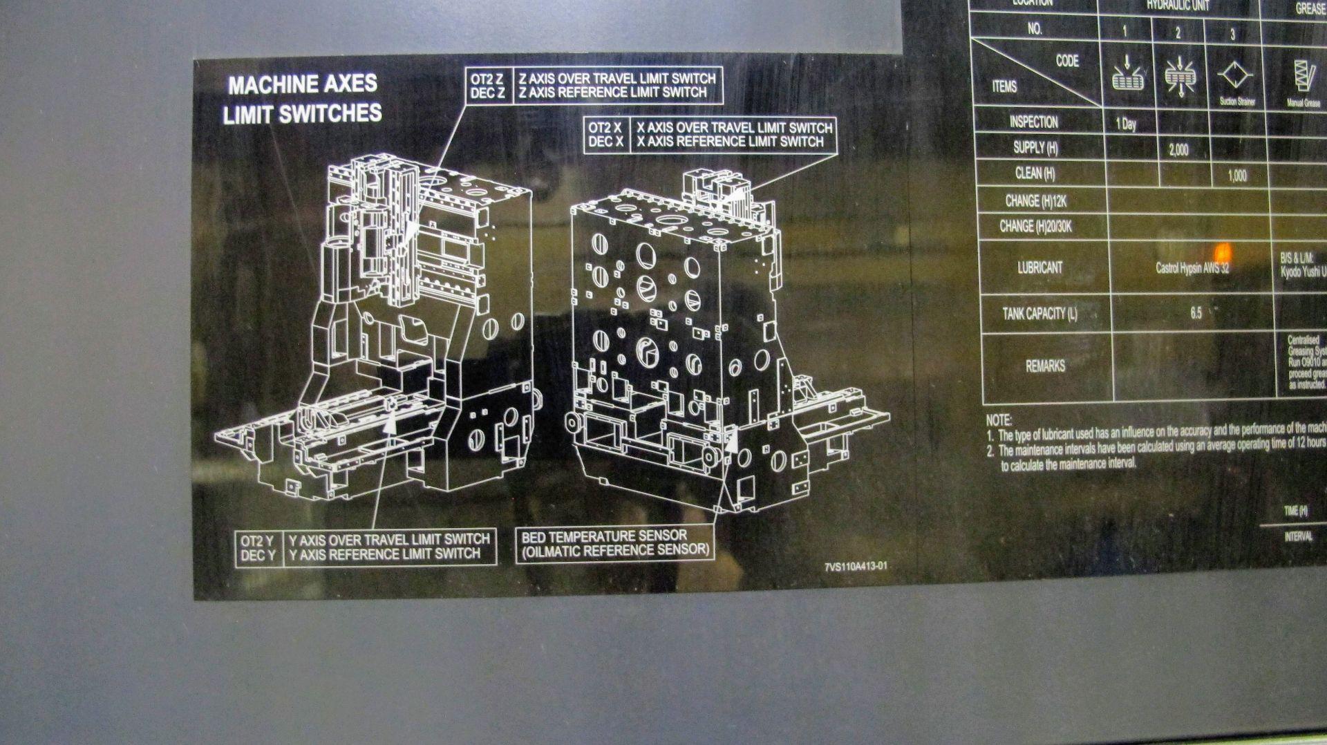 "Lot 14 - 2012 MAKINO F3 CNC Vertical Machining Center, s/n V140342, 20"" x 34"" Table (850mm x 500mm), Makino"