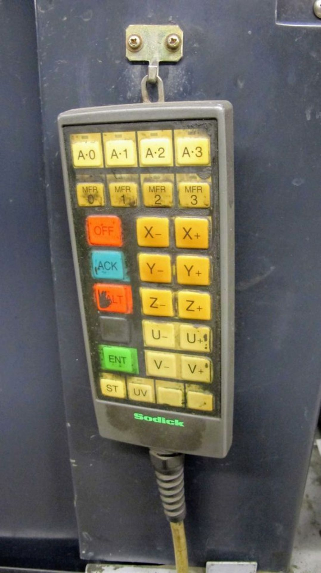 "Lot 77 - 2002SODICKAQ750L Wire EDM, LN1W Control, s/n 9058, Travels: X-29.5"", Y-19.6"", Z-15.7"", 3,300lb Max"