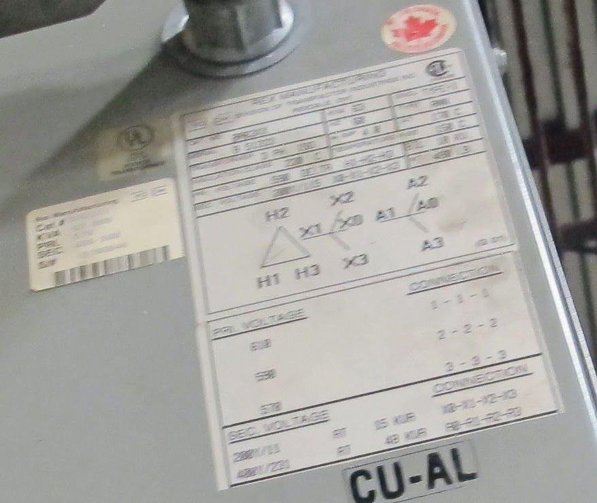 Lot 50 - REX TRANSFORMER, 63KVA, 590V PRIMARY, 400/231 SECONDARY