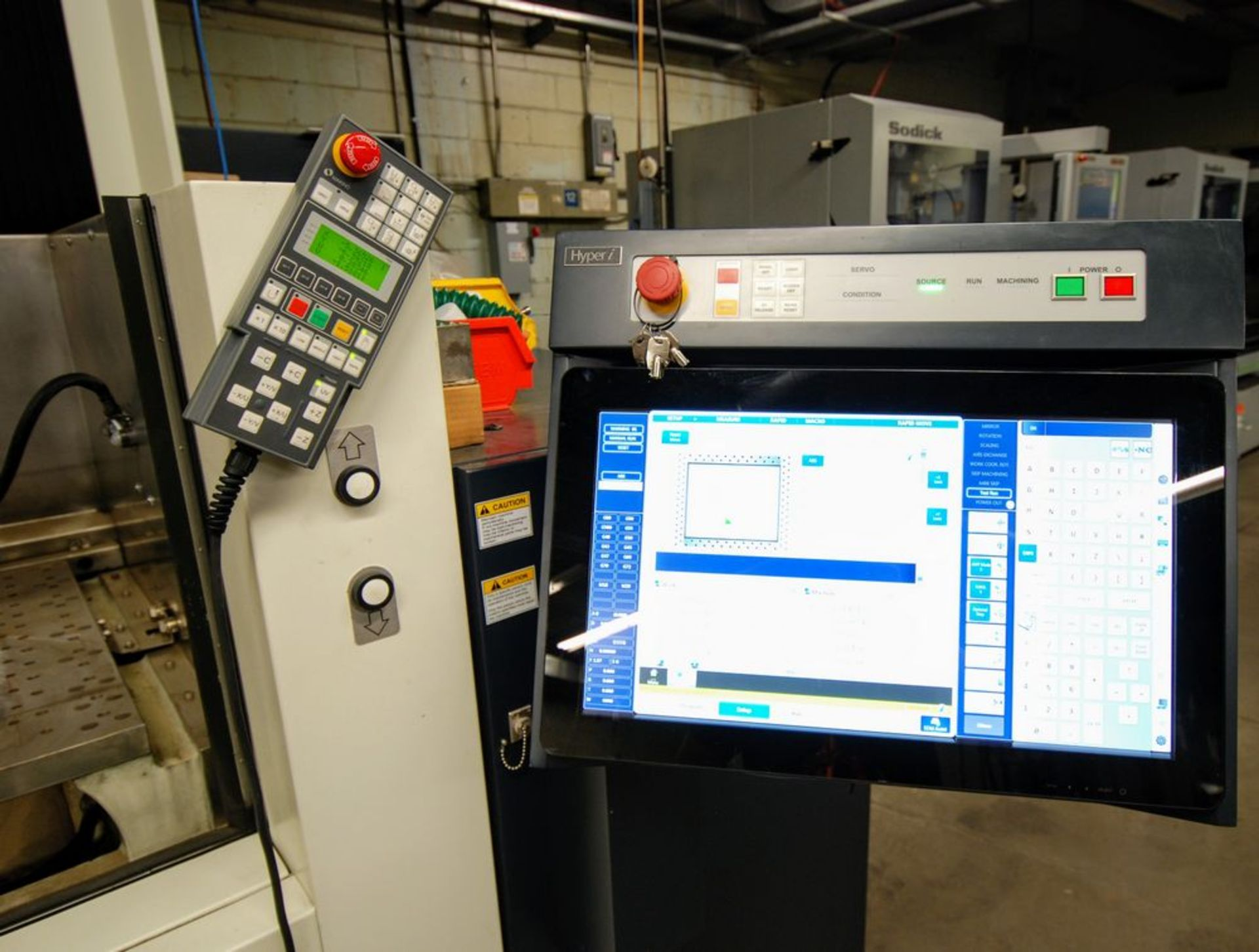 Lot 69 - 2018MAKINOU6 Wire EDM (installed Feb 2019), Hyper i CNC Control, s/n W150740, 55hrs, Travels: X-