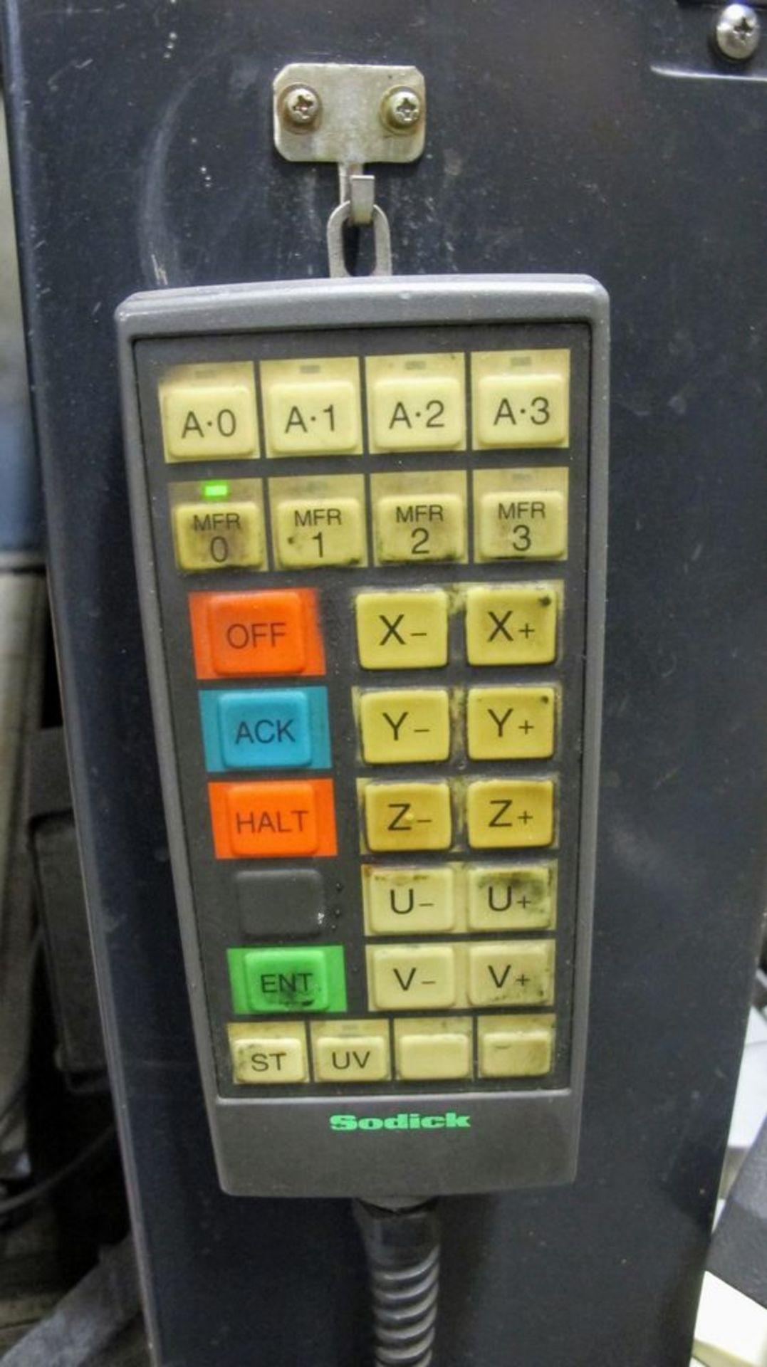 "Lot 75 - 2003SODICKAQ750L Wire EDM, LN1W Control, s/n 0129, Travels: X-29.5"", Y-19.6"", Z-15.7"", 3,300lb Max"
