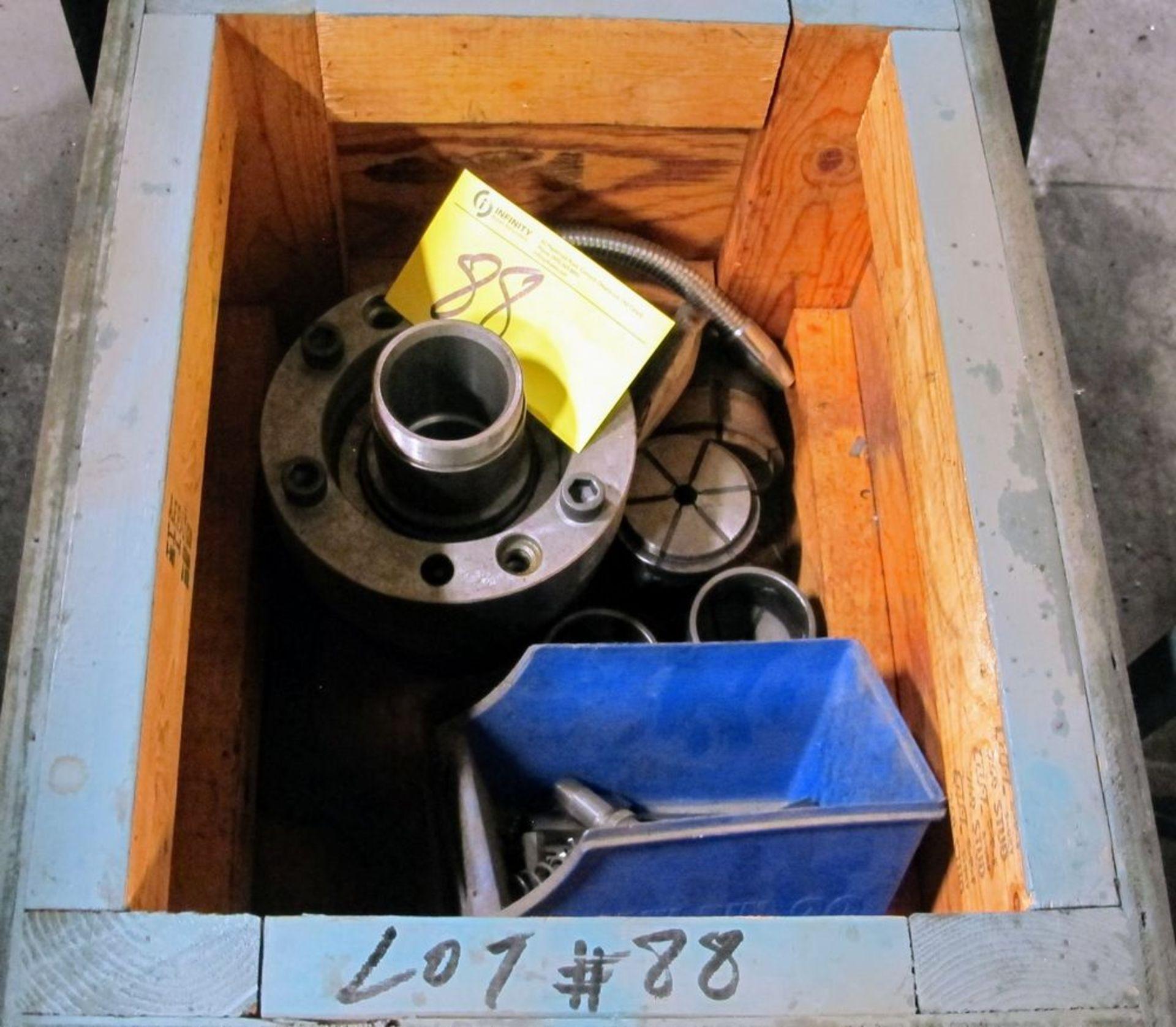 "Lot 88 - NAKAMURA-TOME SC-300 CNC Lathe, Fanuc Series 21-T CNC Control, 10"" 3-Jaw Chuck, Tailstock, Turret,"