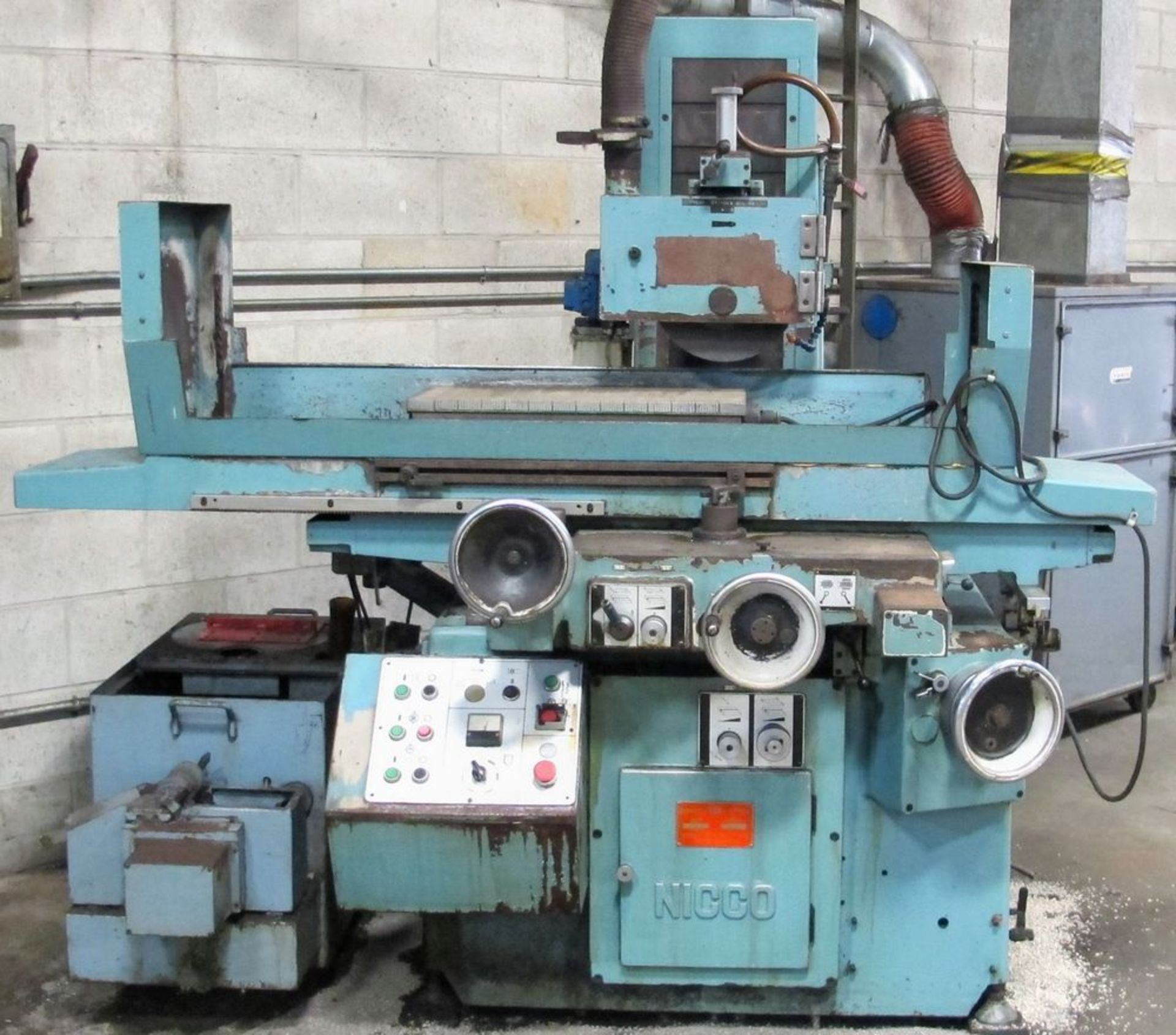 "Lot 110 - NICCO NSG-6H Surface Grinder, 12"" x 24"" Magnetic Chuck, s/n G4205"