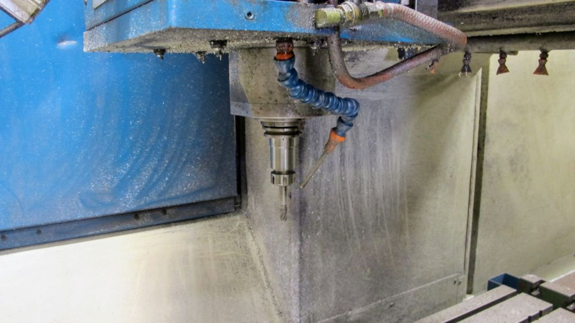 "Lot 49 - 2001 NICOLAS CORREA Euro-2.000 CNC Bridge Type Vertical Machining Center, s/n 900054, 40"" x 80"""