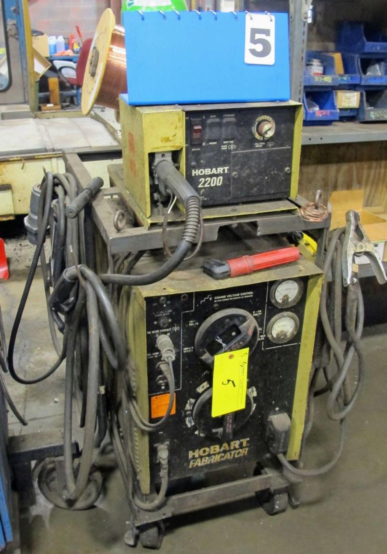 Lot 5 - HOBART Welder w/ Wire Feeder
