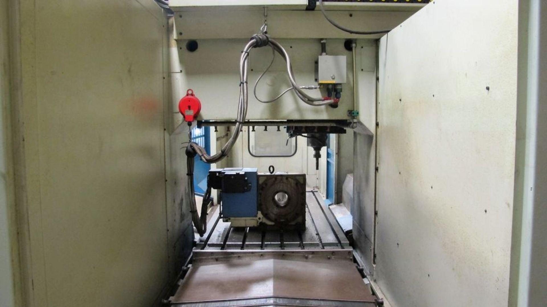 Lot 47 - NICOLAS CORREA Euro-2.000 CNC Bridge Type Vertical Machining Center (4th Axis)