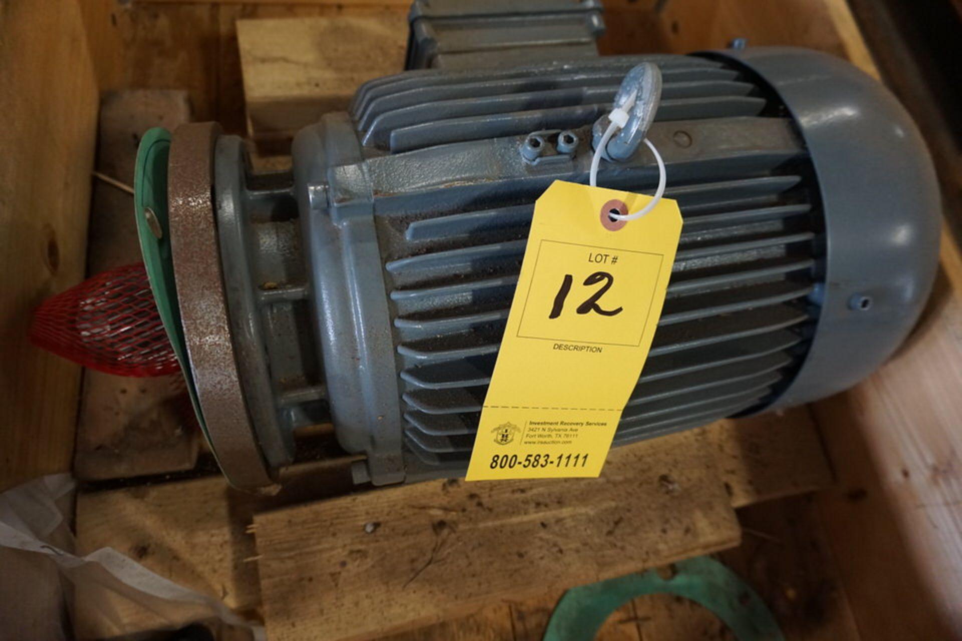 Lot 12 - EMOD ELECTRIC MOTOR, TYPE:HEFIF2-132M/4 (Location: 903 Blue Starr, Claremore, OK 74017)