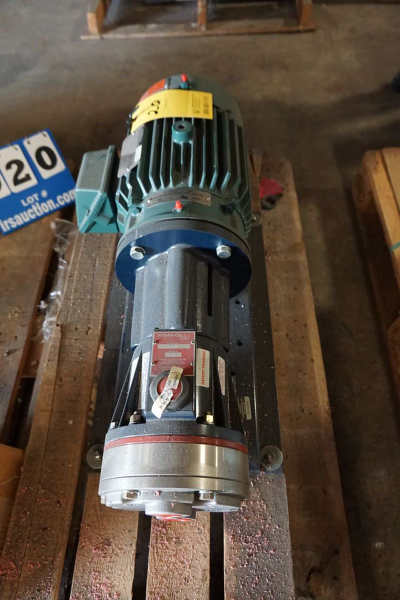 Lot 20 - RELIANCE ELECTRIC INVERTER DUTY MOTOR, MDL:P18G1194E, 5HP, 230/460V, 3 PH (Location: 903 Blue Starr,
