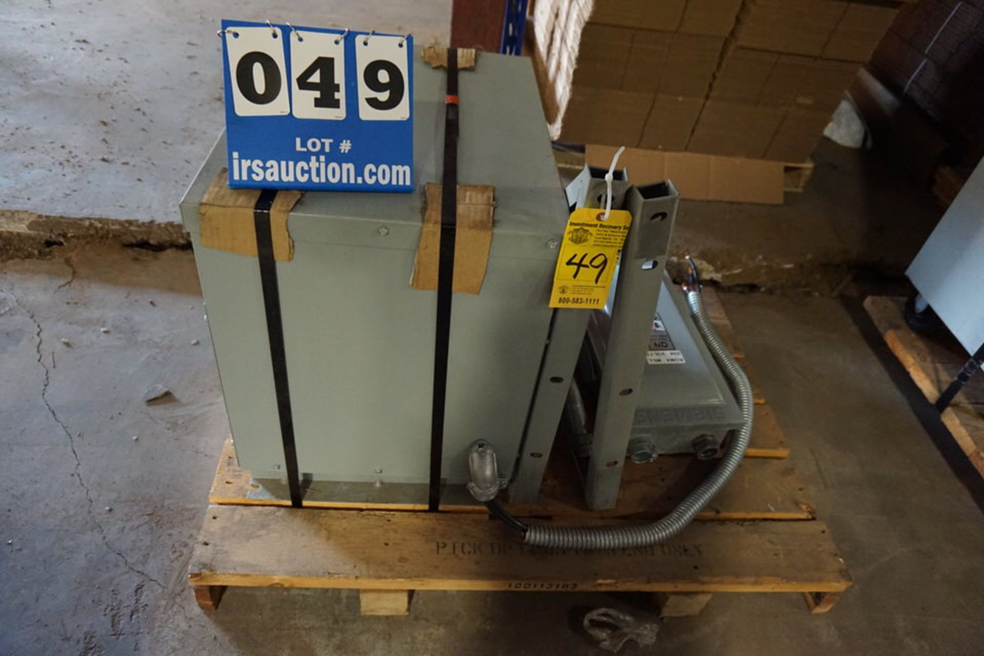Lot 49 - ACME TRANSFORMER, TYPE: TP1A (Location: 903 Blue Starr, Claremore, OK 74017)