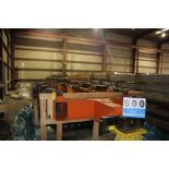 Lot 500 - ROBOTIC CLAMPING STATION, 4 STATION CLAMPING ATTC, 4' BETWEEN CENTERS, CUSTOM DESIGN (Location: 5202