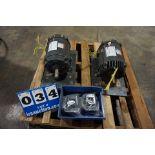Lot 34 - DAYTON ELEC MOTOR, MDL:5KK01, 5HP, 230/460V, 3PH (Location: 903 Blue Starr, Claremore, OK 74017)