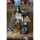 Lot 16 - VACCUM PUMP, MOTORS, STARTERS, MISC (Location: 903 Blue Starr, Claremore, OK 74017)
