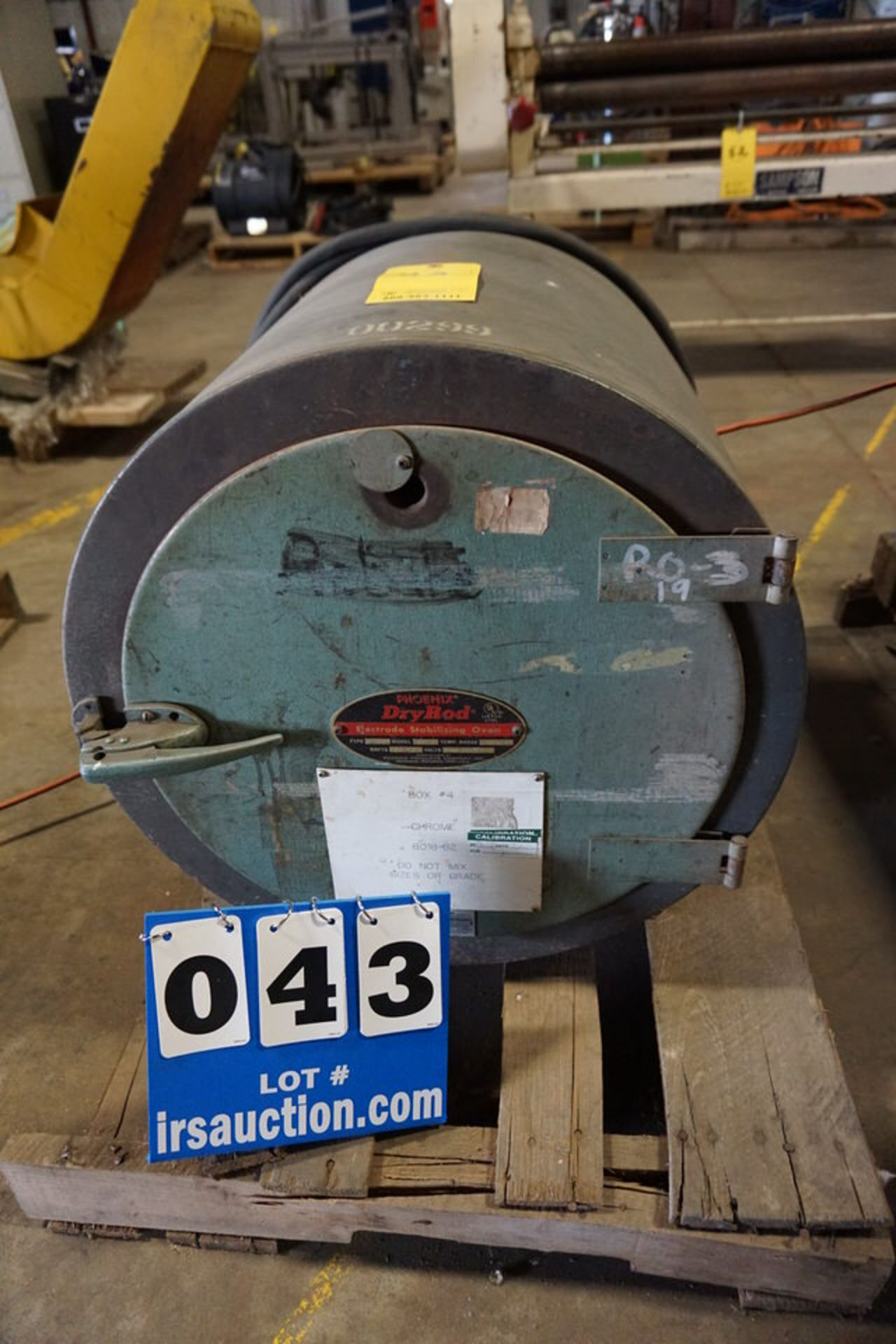Lot 43 - PHOENIX DRY ROD OVEN, MDL:15 (Location: 903 Blue Starr, Claremore, OK 74017)