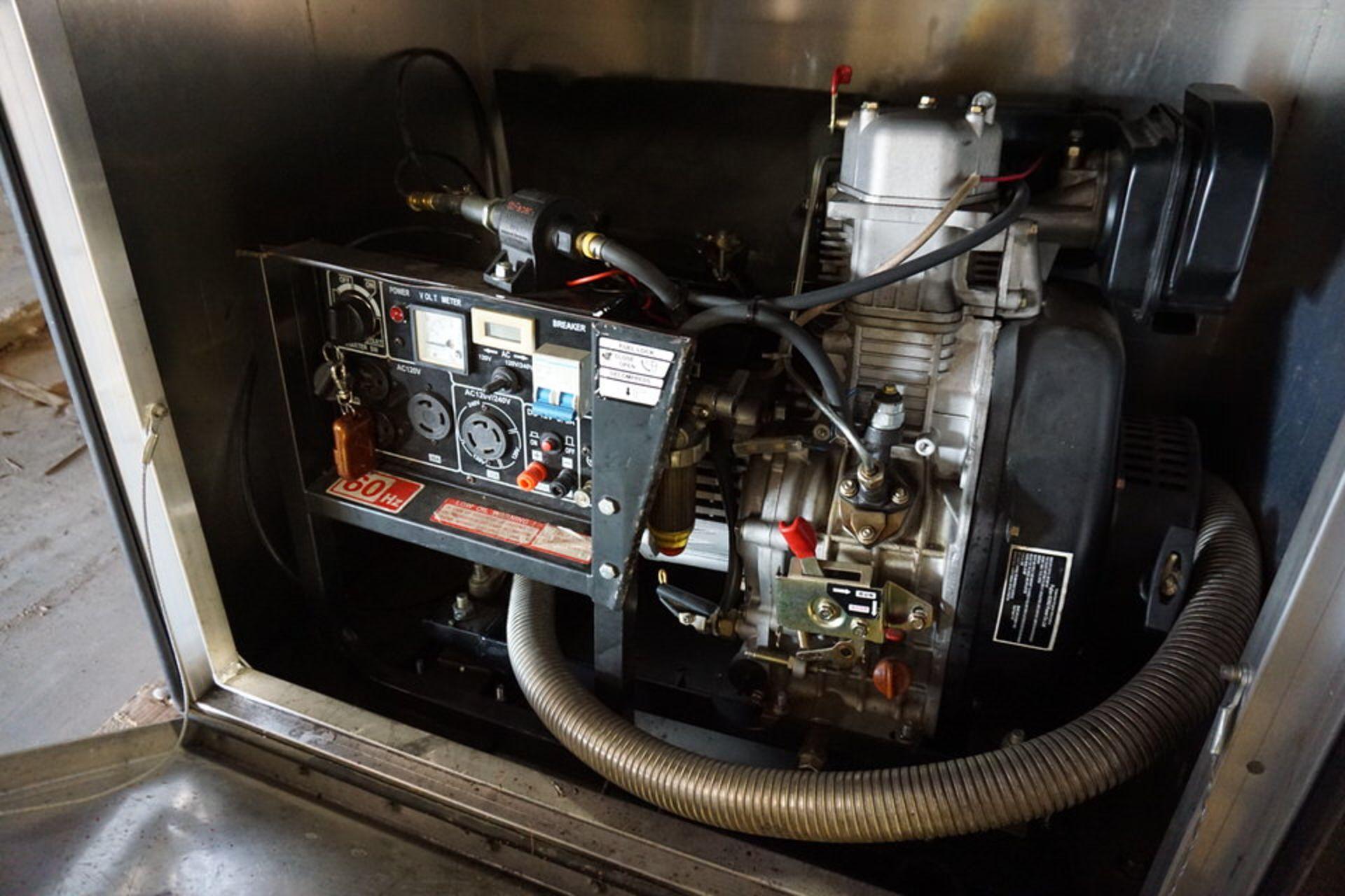 Lot 48 - PRO TECH GENERATOR IN CABINET (Location: 903 Blue Starr, Claremore, OK 74017)