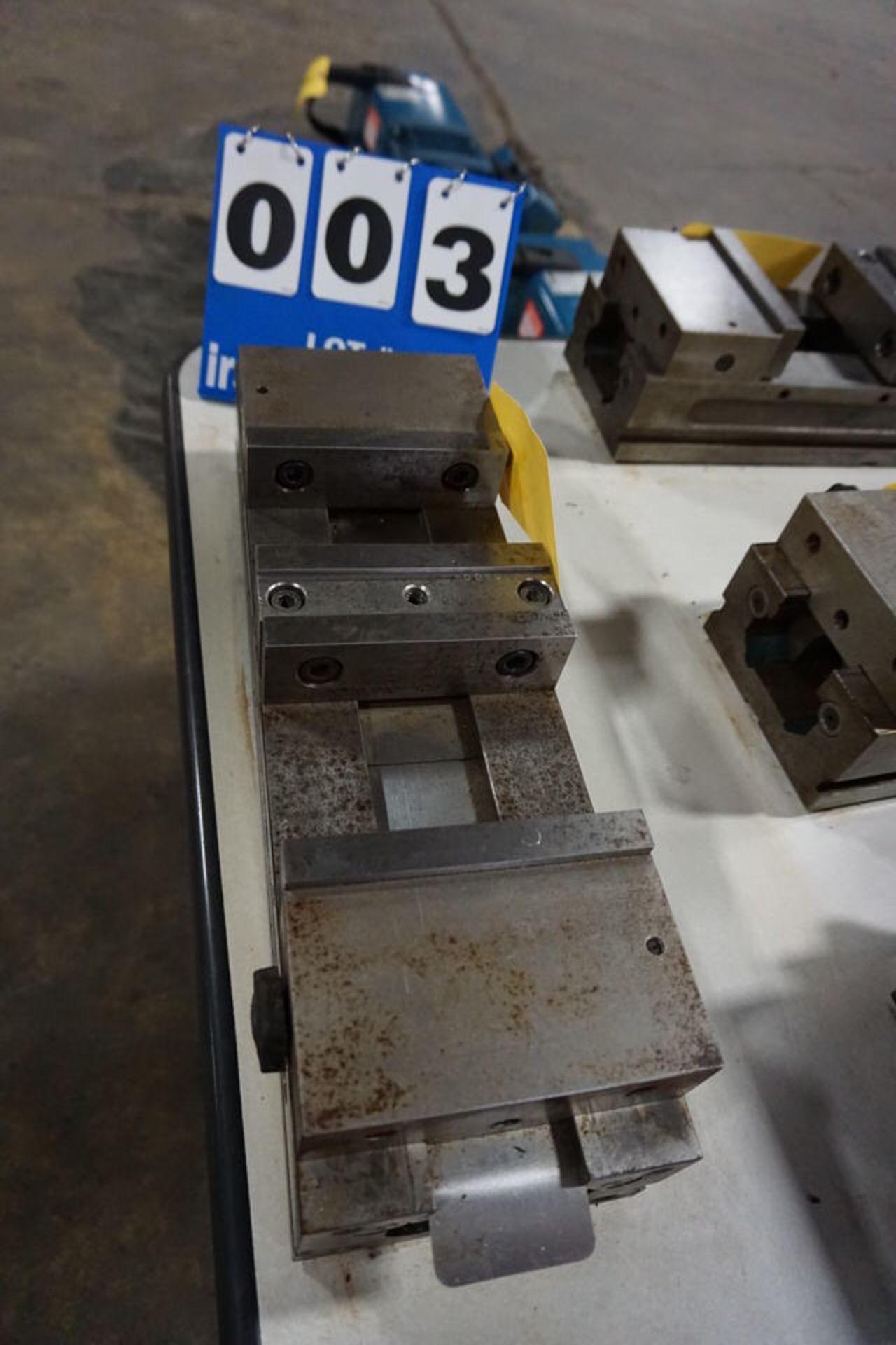 "Lot 3 - KURT 6"" PRECISION MACHINE VISES, NO HANDLES (Location: 903 Blue Starr, Claremore, OK 74017)"
