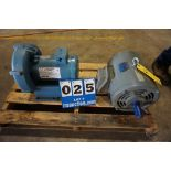 Lot 25 - AMETEK WATER PUMP MDL:DR454R58 A W/ TECO ELEC MOTOR (Location: 903 Blue Starr, Claremore, OK 74017)